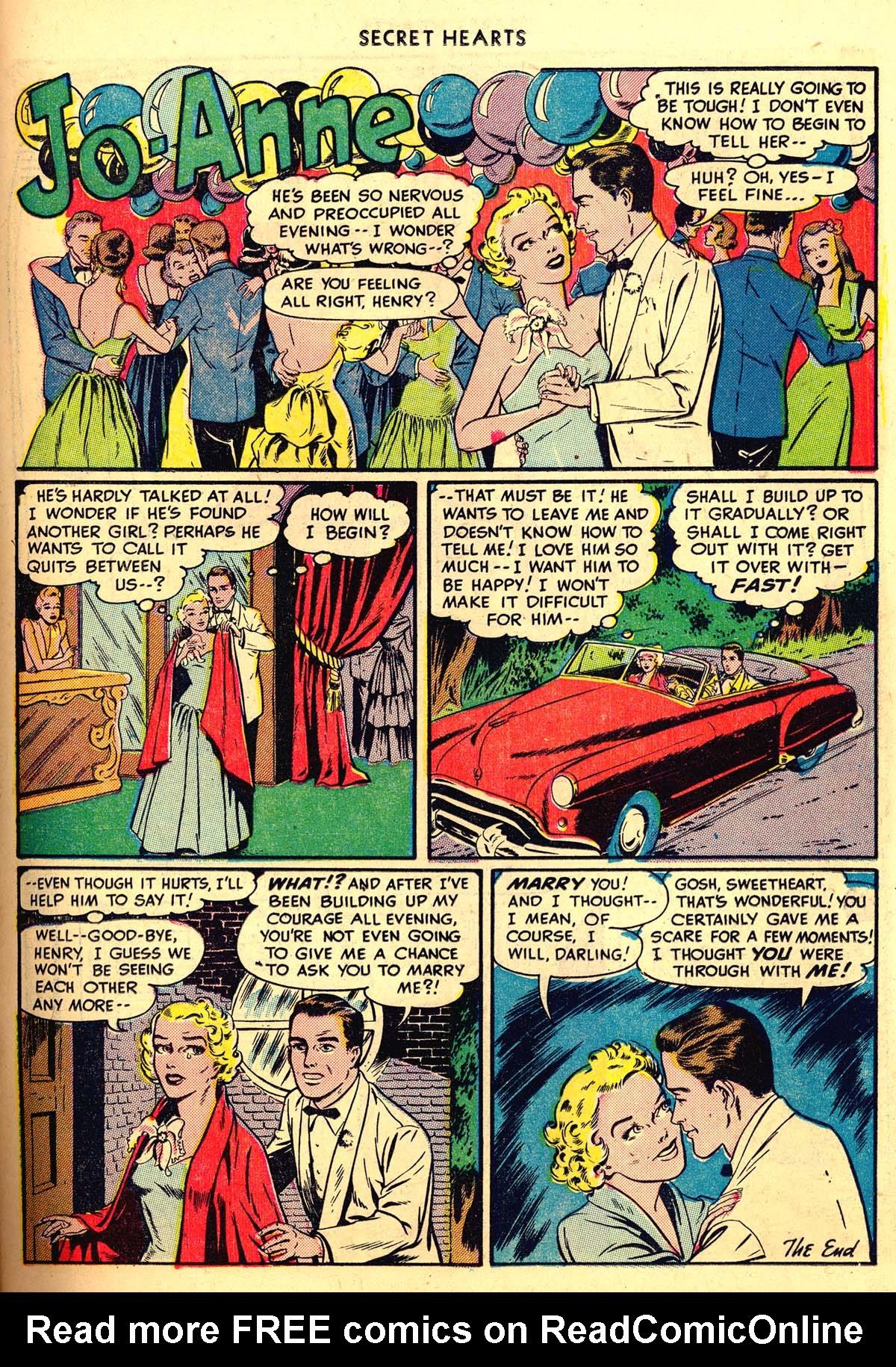 Read online Secret Hearts comic -  Issue #6 - 29