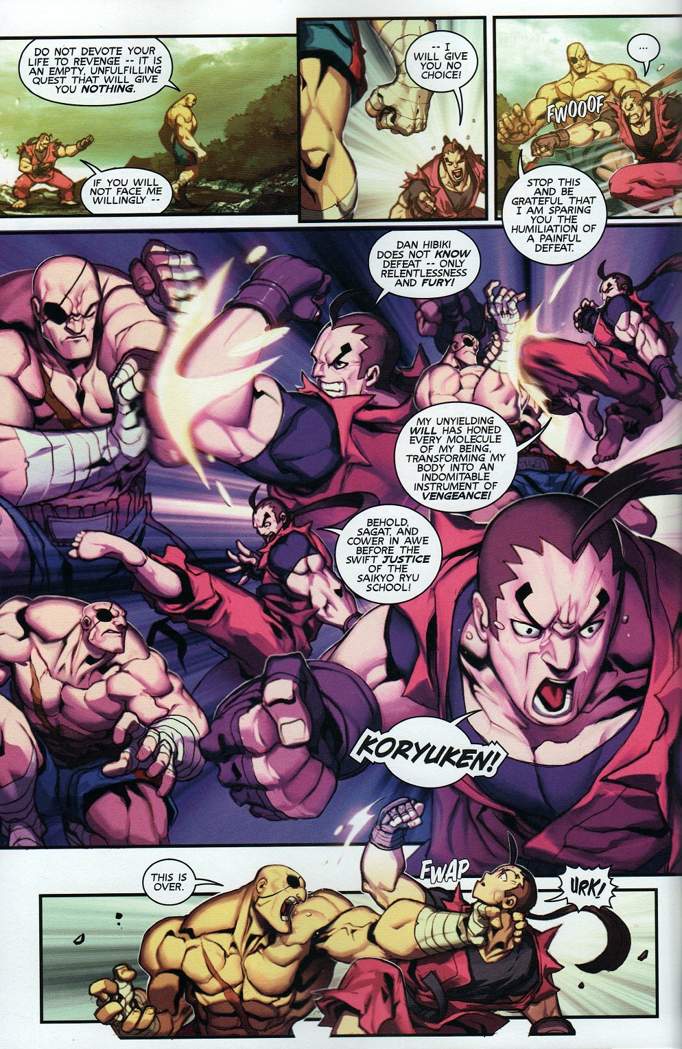 Street Fighter Unlimited Issue #8 #10 - English 22