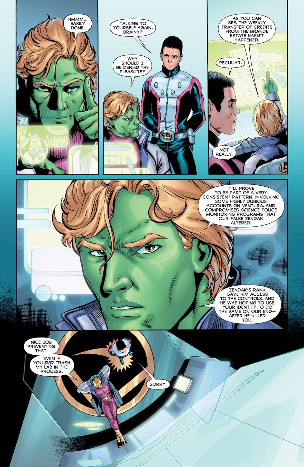 Legion of Super-Heroes (2010) Issue #10 #11 - English 12