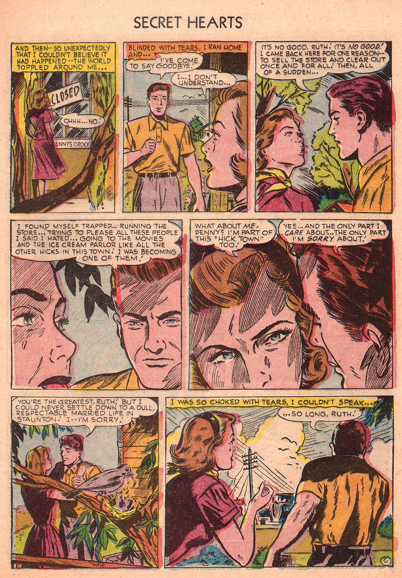 Read online Secret Hearts comic -  Issue #23 - 21