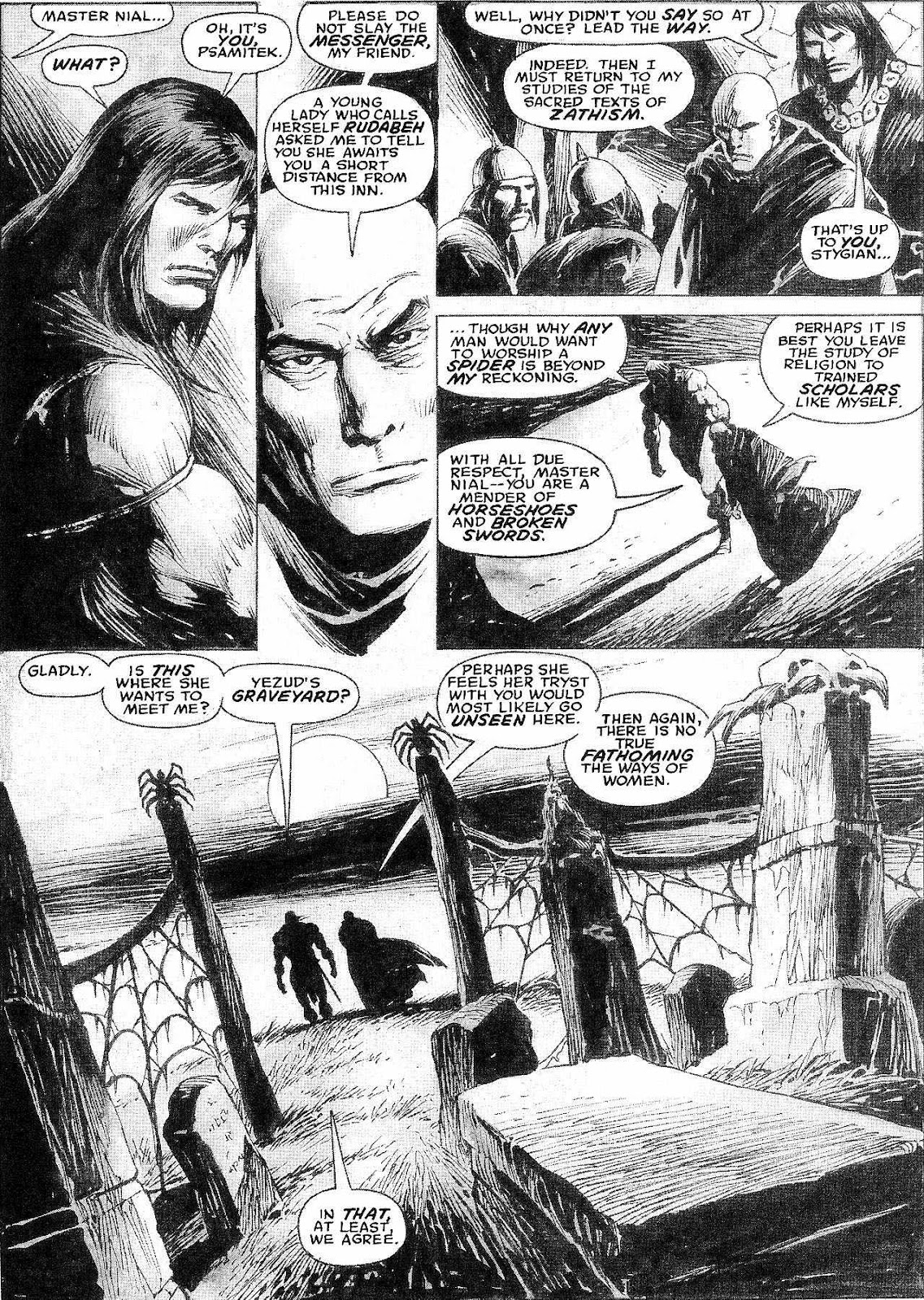 The Savage Sword Of Conan Issue #210 #211 - English 4