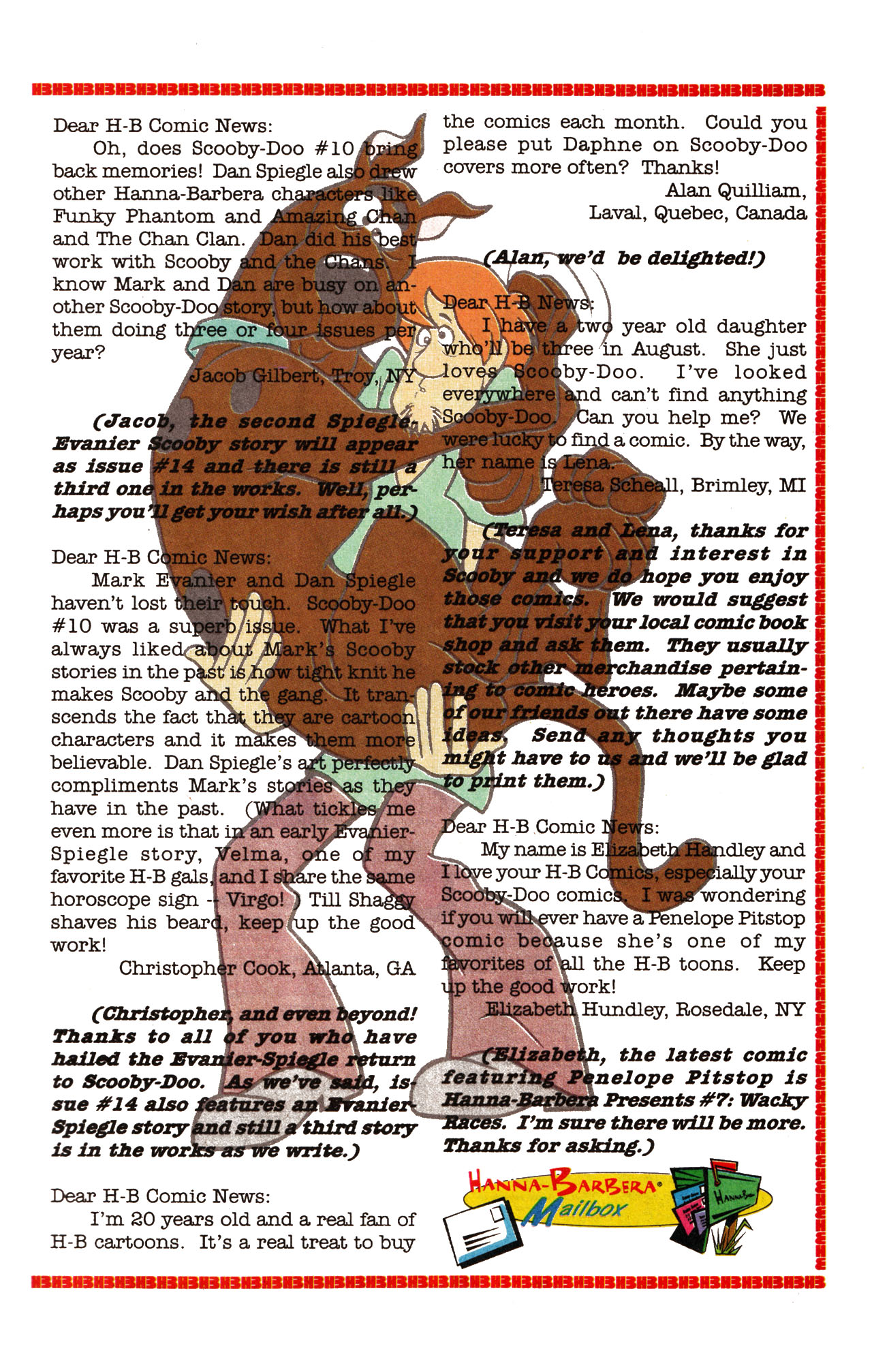 Read online Scooby-Doo (1995) comic -  Issue #13 - 24
