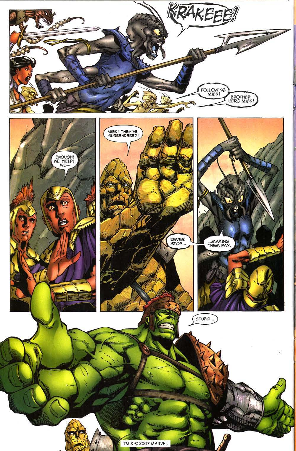 Read online The Incredible Hulk (2000) comic -  Issue #97 - 22