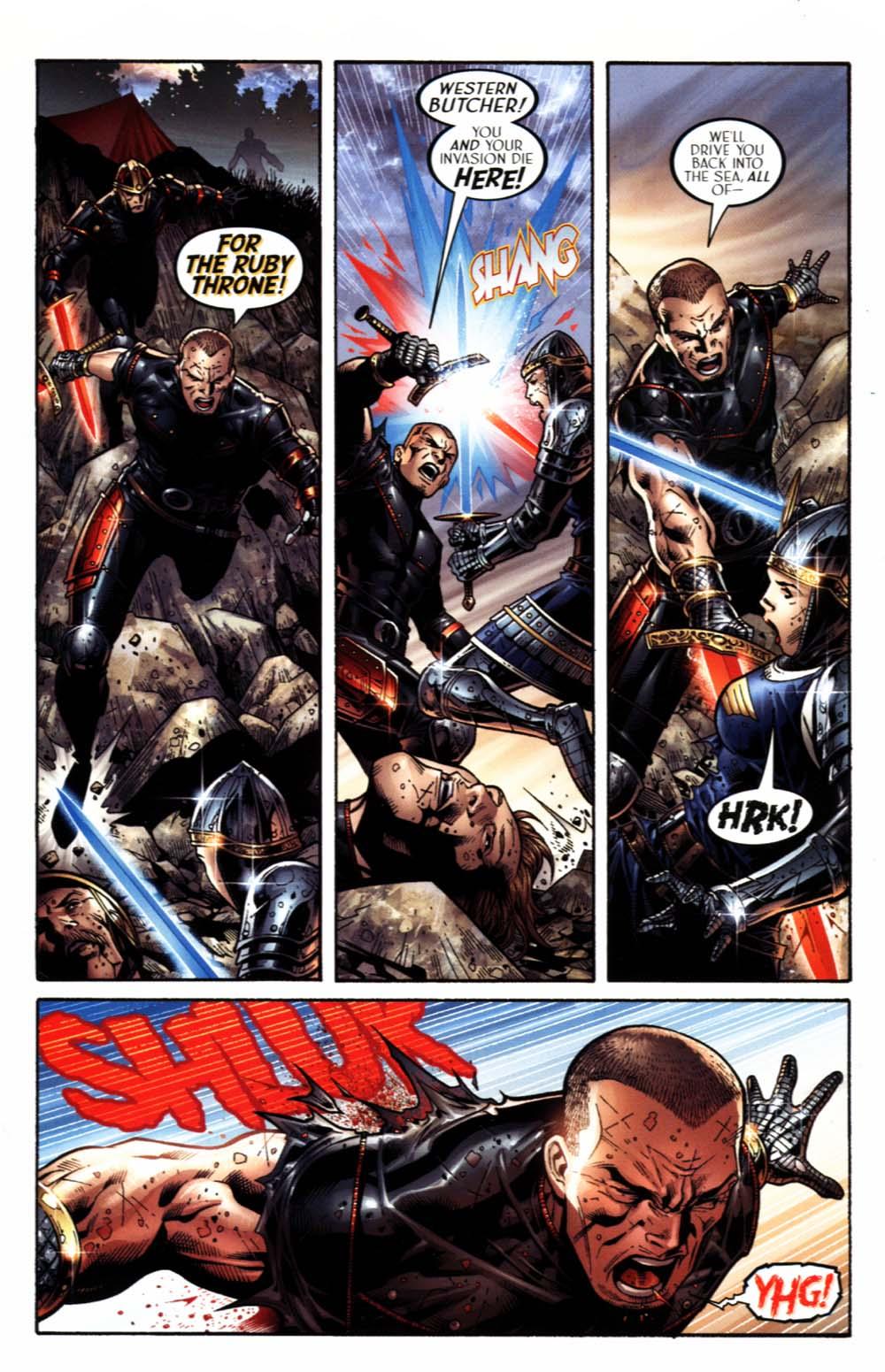 Read online Scion comic -  Issue #18 - 10