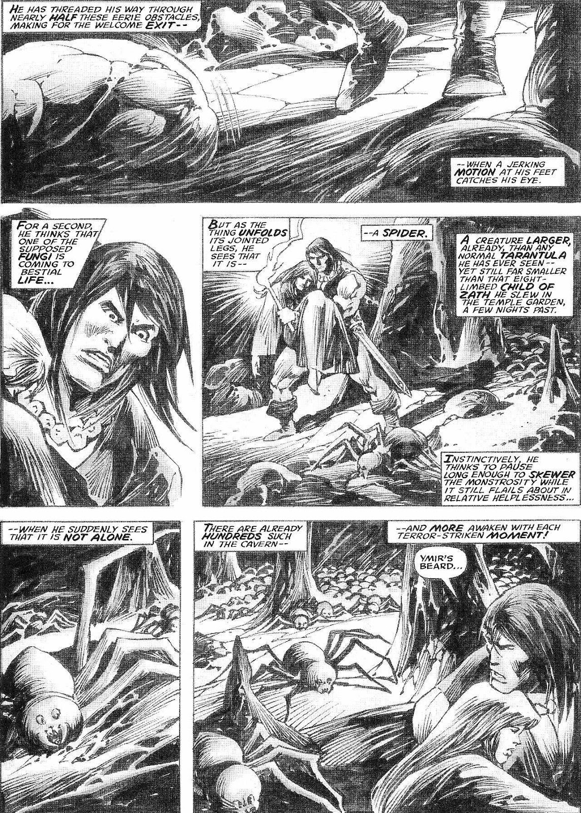 The Savage Sword Of Conan Issue #210 #211 - English 29