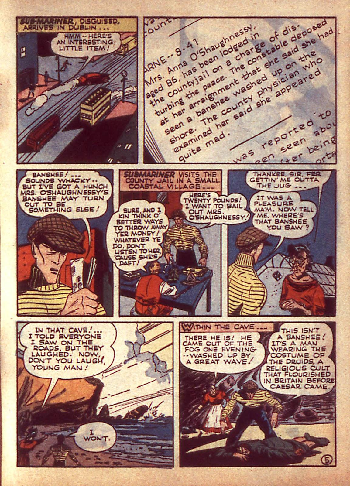 Sub-Mariner Comics Issue #3 #3 - English 8