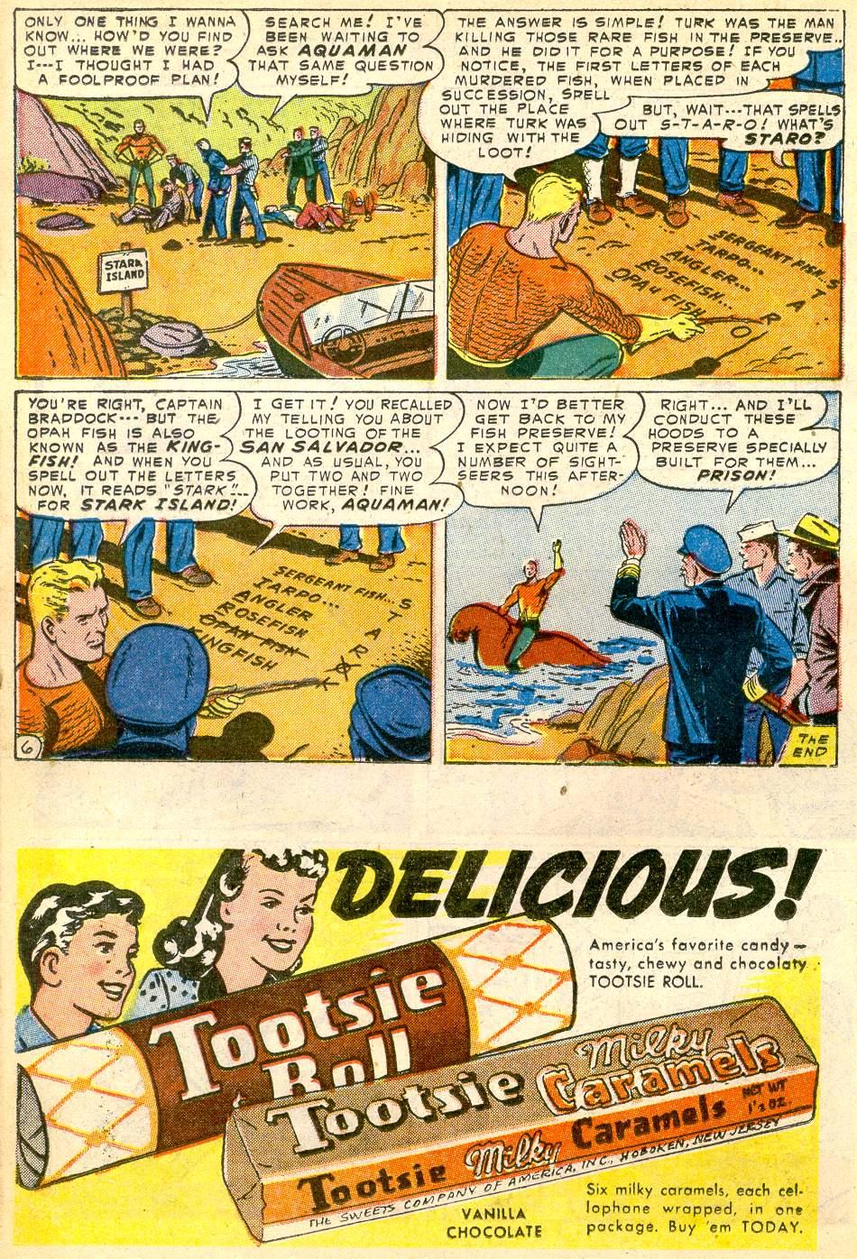 Read online Adventure Comics (1938) comic -  Issue #192 - 22