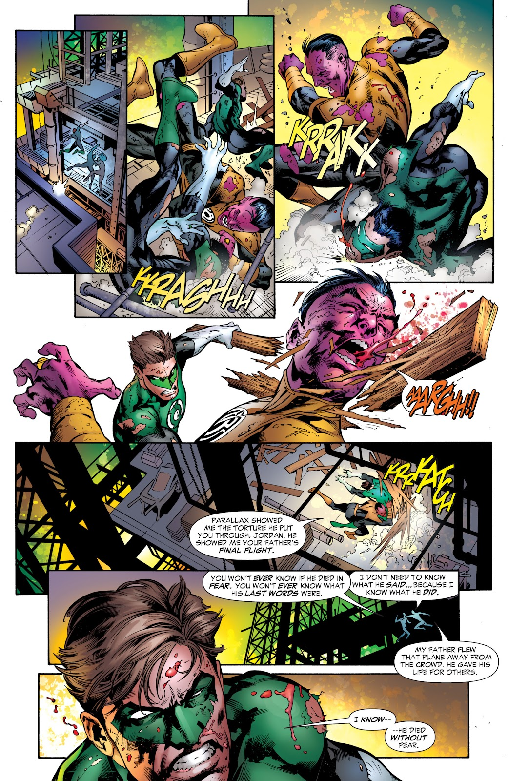 Green Lantern: The Sinestro Corps War Full #1 - English 276