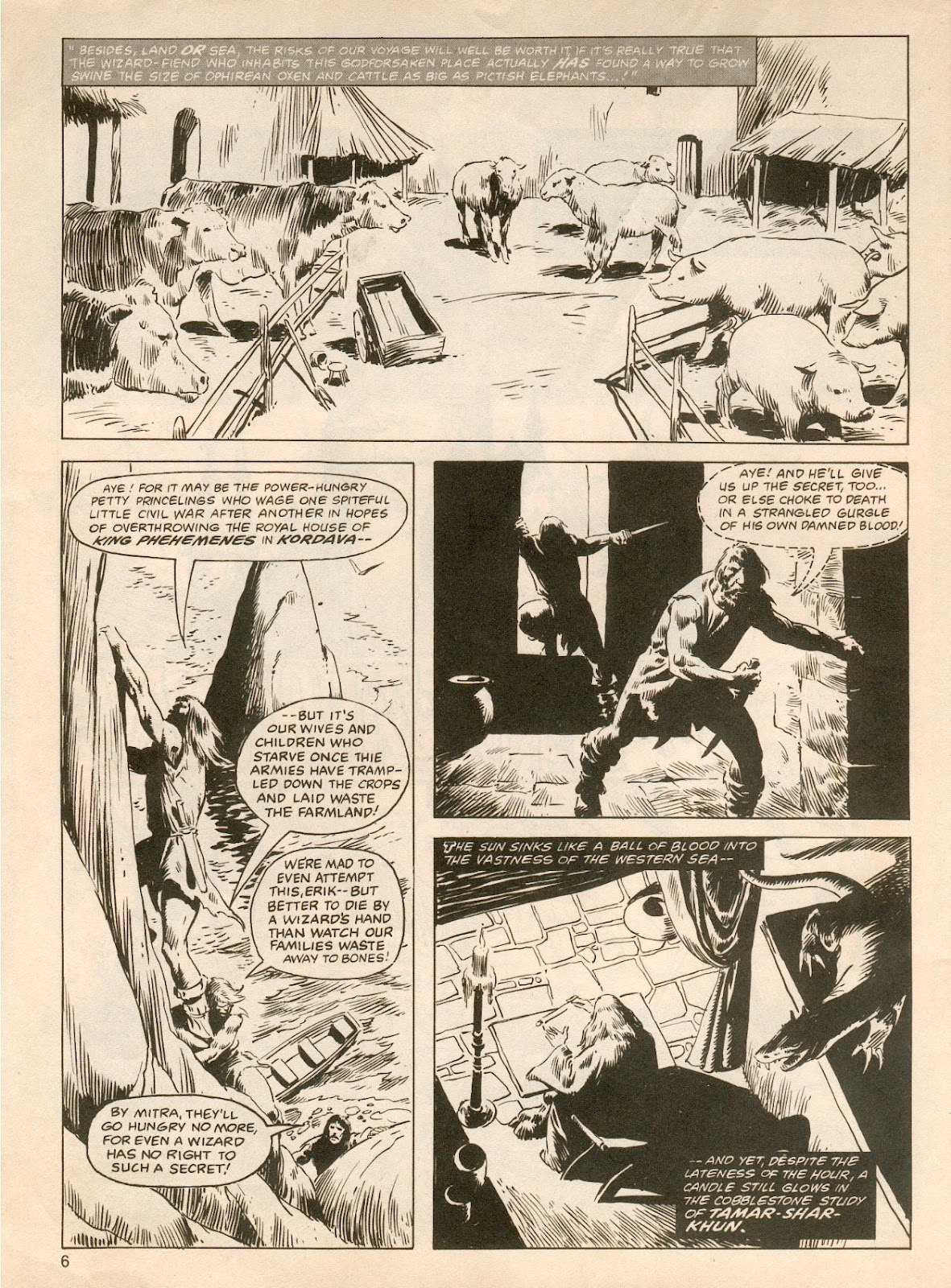 The Savage Sword Of Conan Issue #61 #62 - English 6