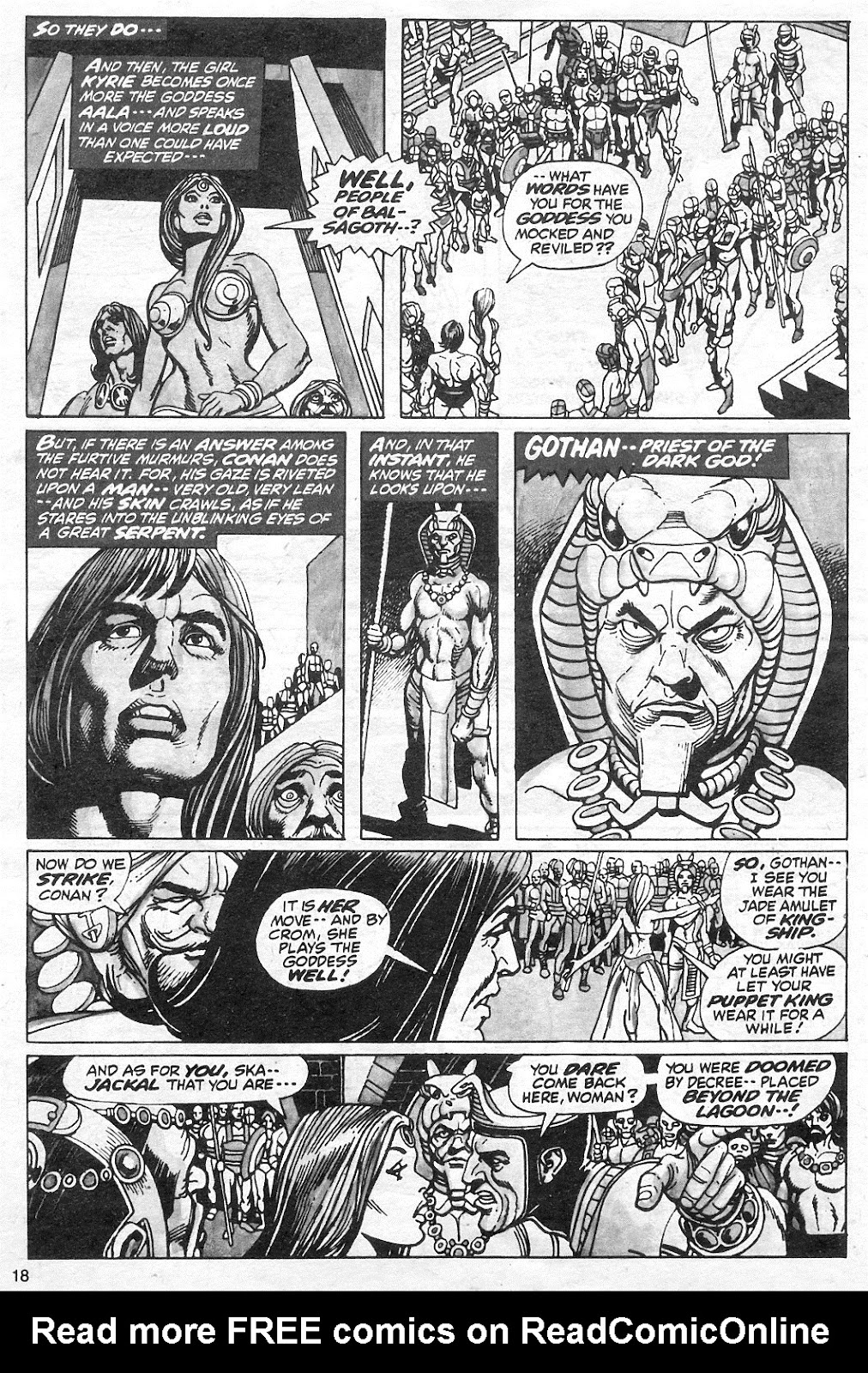 The Savage Sword Of Conan Issue #13 #14 - English 18