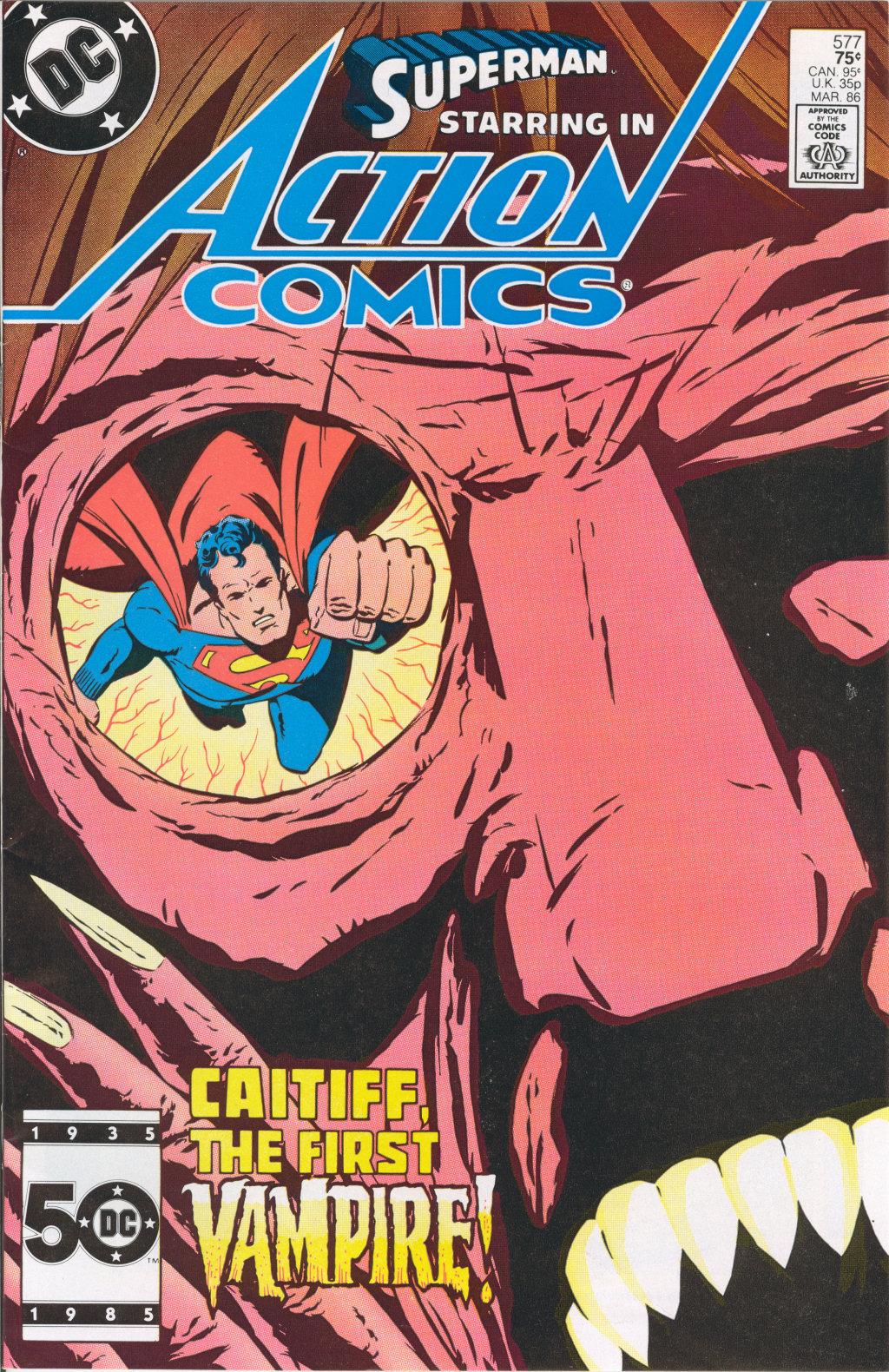 Action Comics (1938) 577 Page 1
