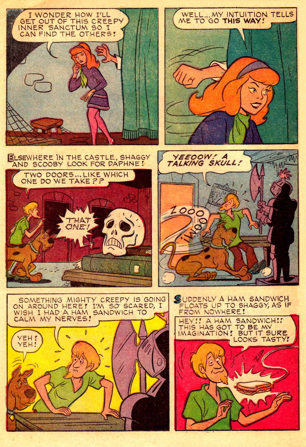 Read online Scooby-Doo... Where Are You! (1970) comic -  Issue #2 - 19