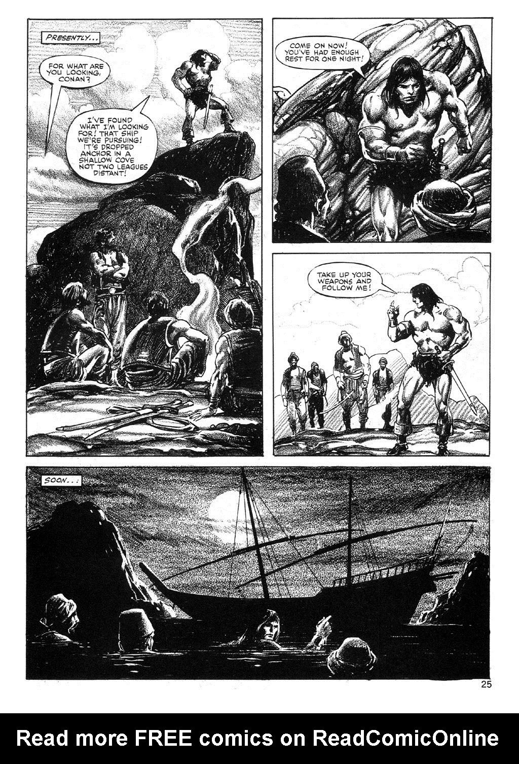 The Savage Sword Of Conan Issue #89 #90 - English 25