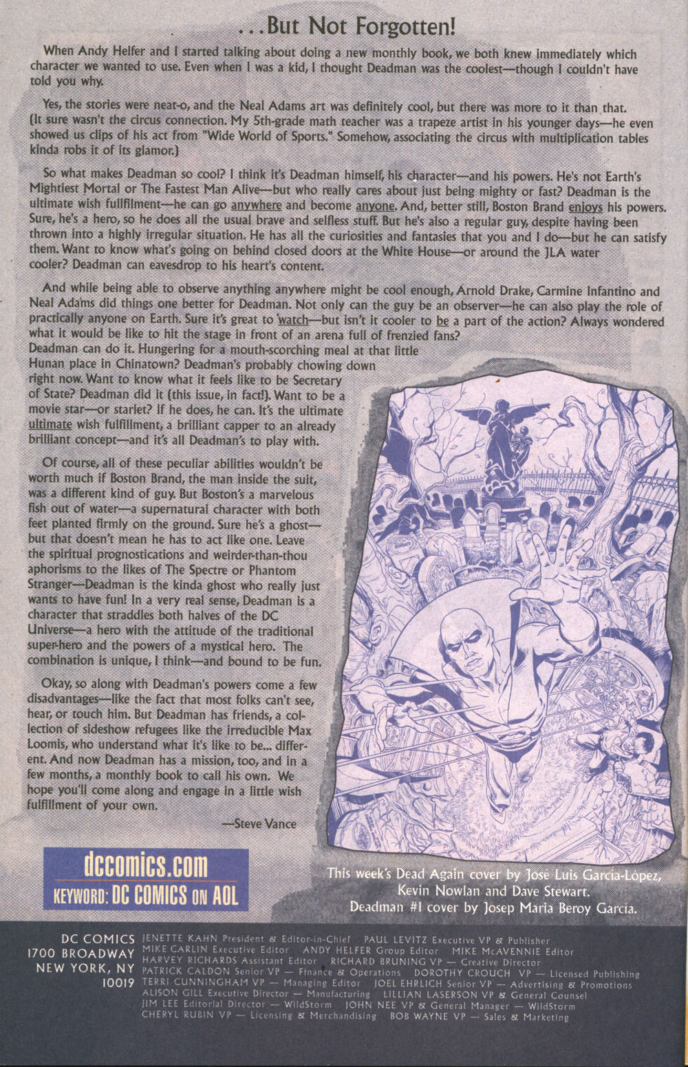 Read online Deadman: Dead Again comic -  Issue #5 - 24