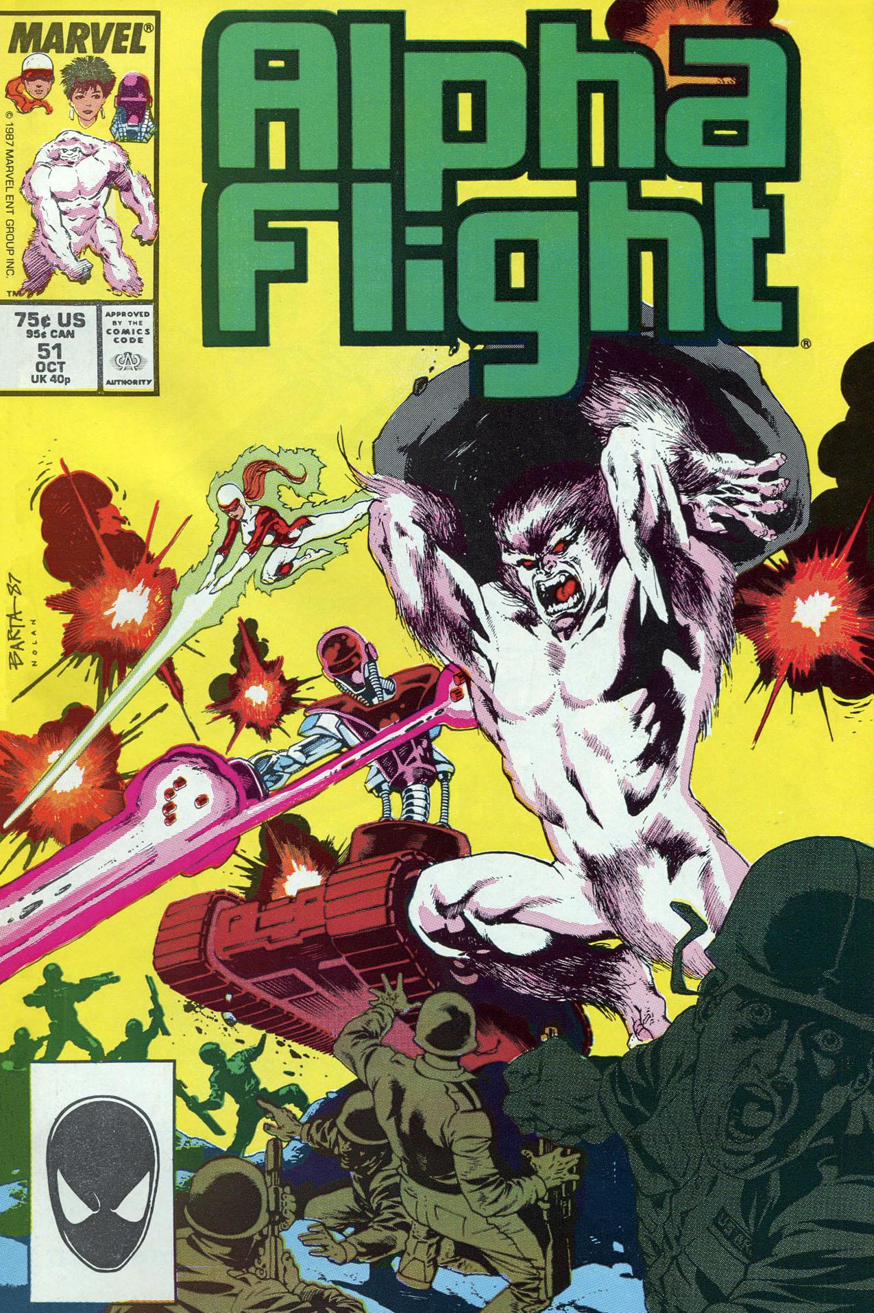Alpha Flight (1983) 51 Page 1