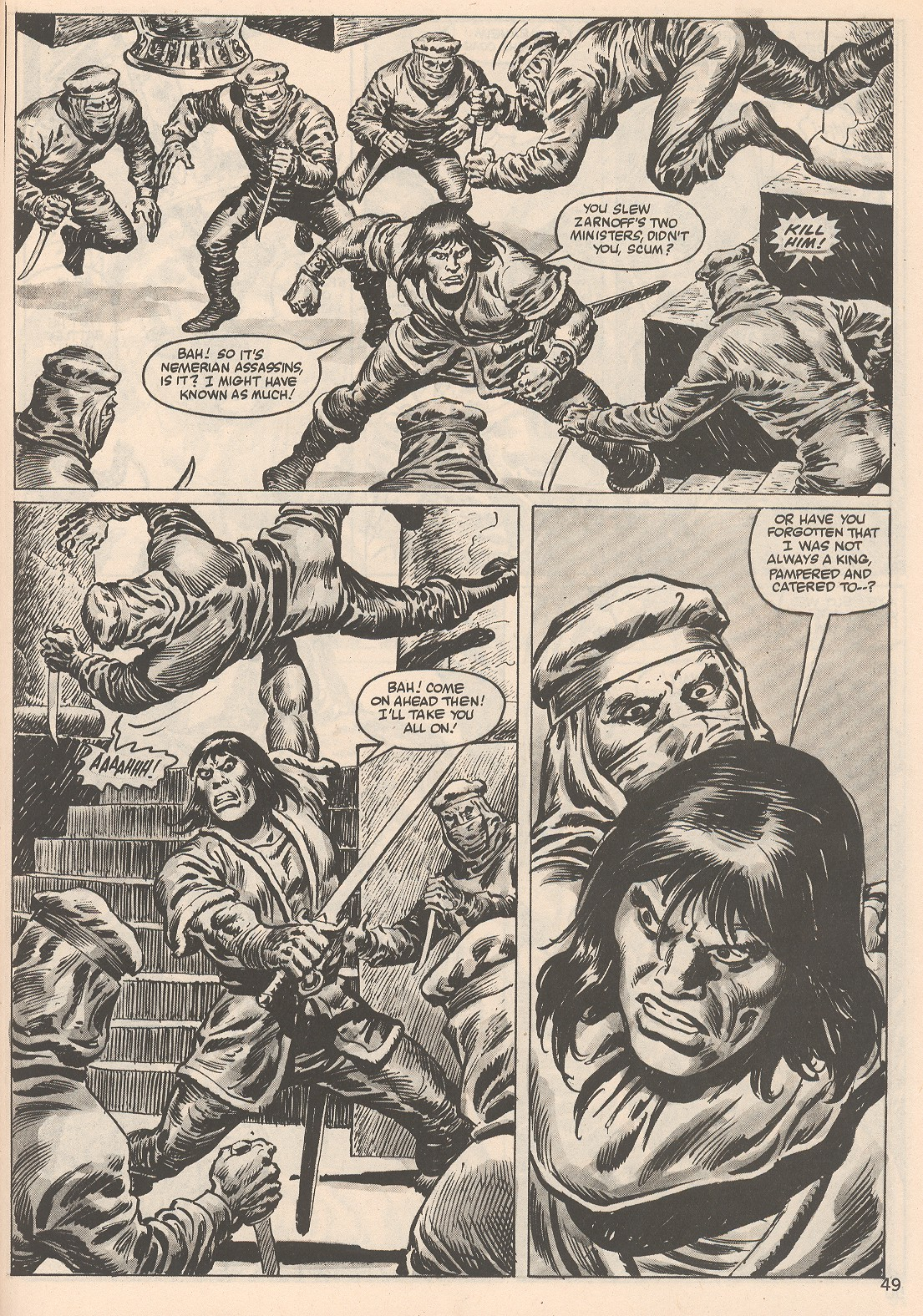 The Savage Sword Of Conan Issue #104 #105 - English 49