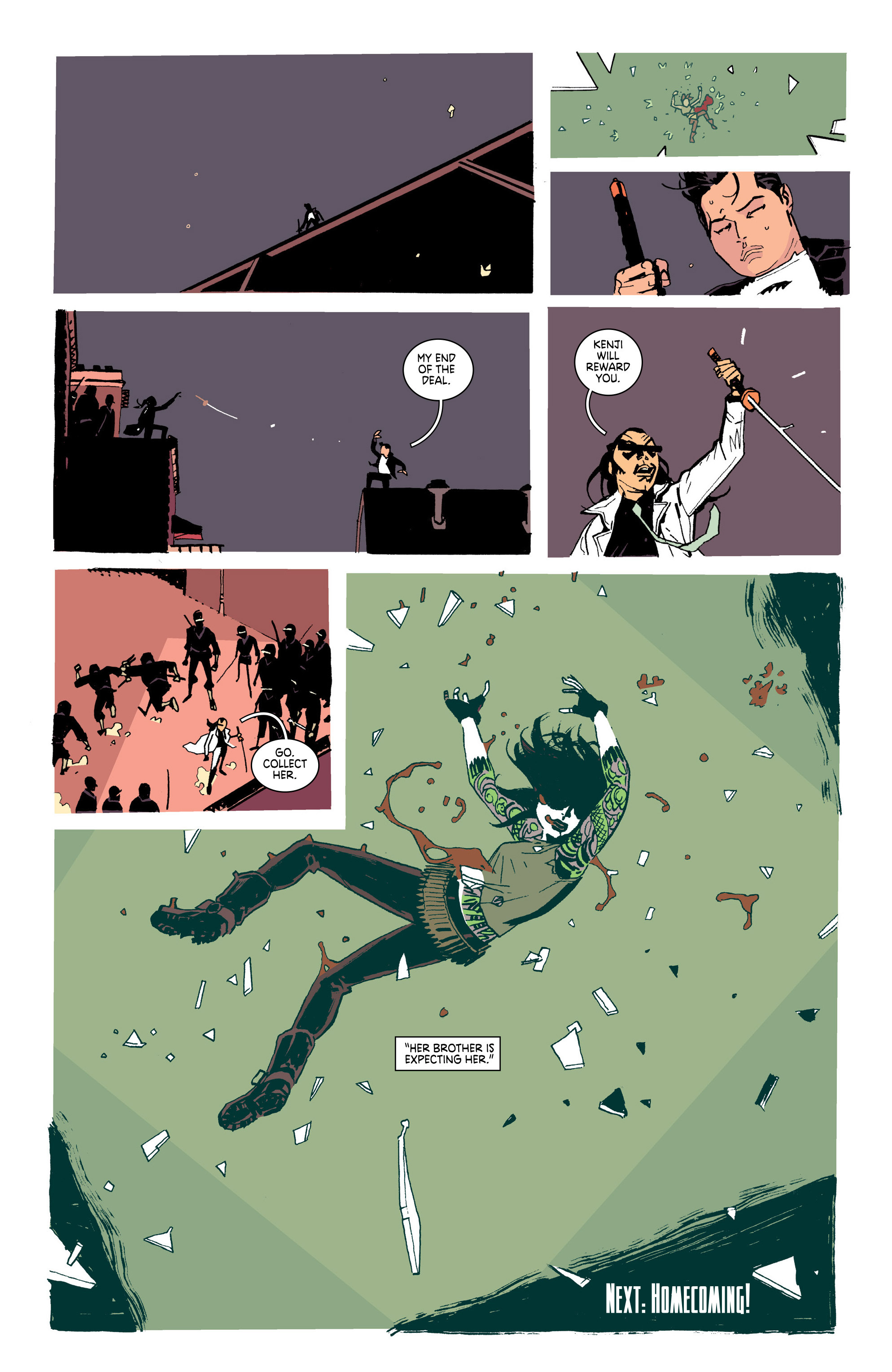 Read online Deadly Class comic -  Issue #25 - 21