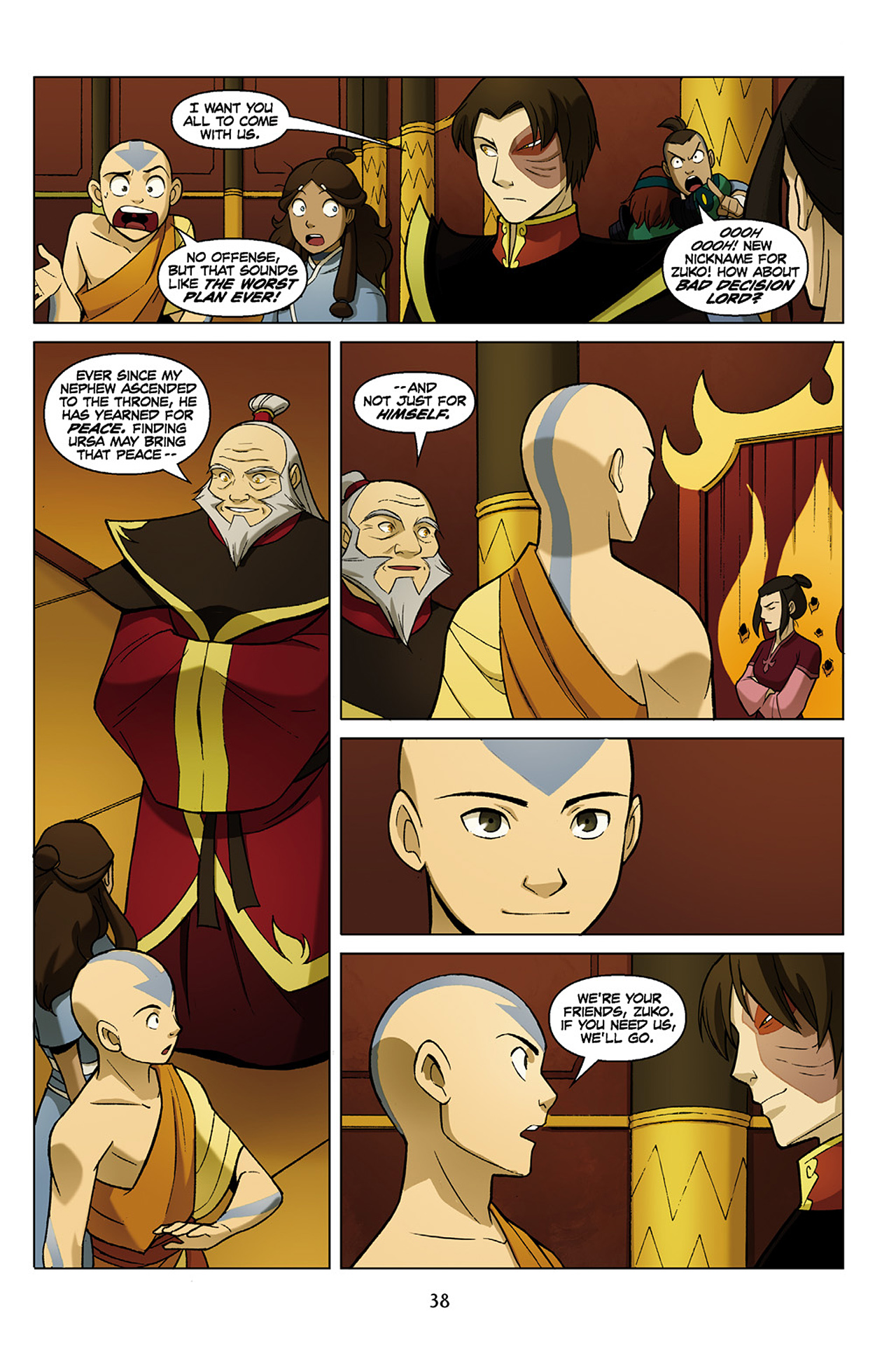 Read online Nickelodeon Avatar: The Last Airbender - The Search comic -  Issue # Part 1 - 39