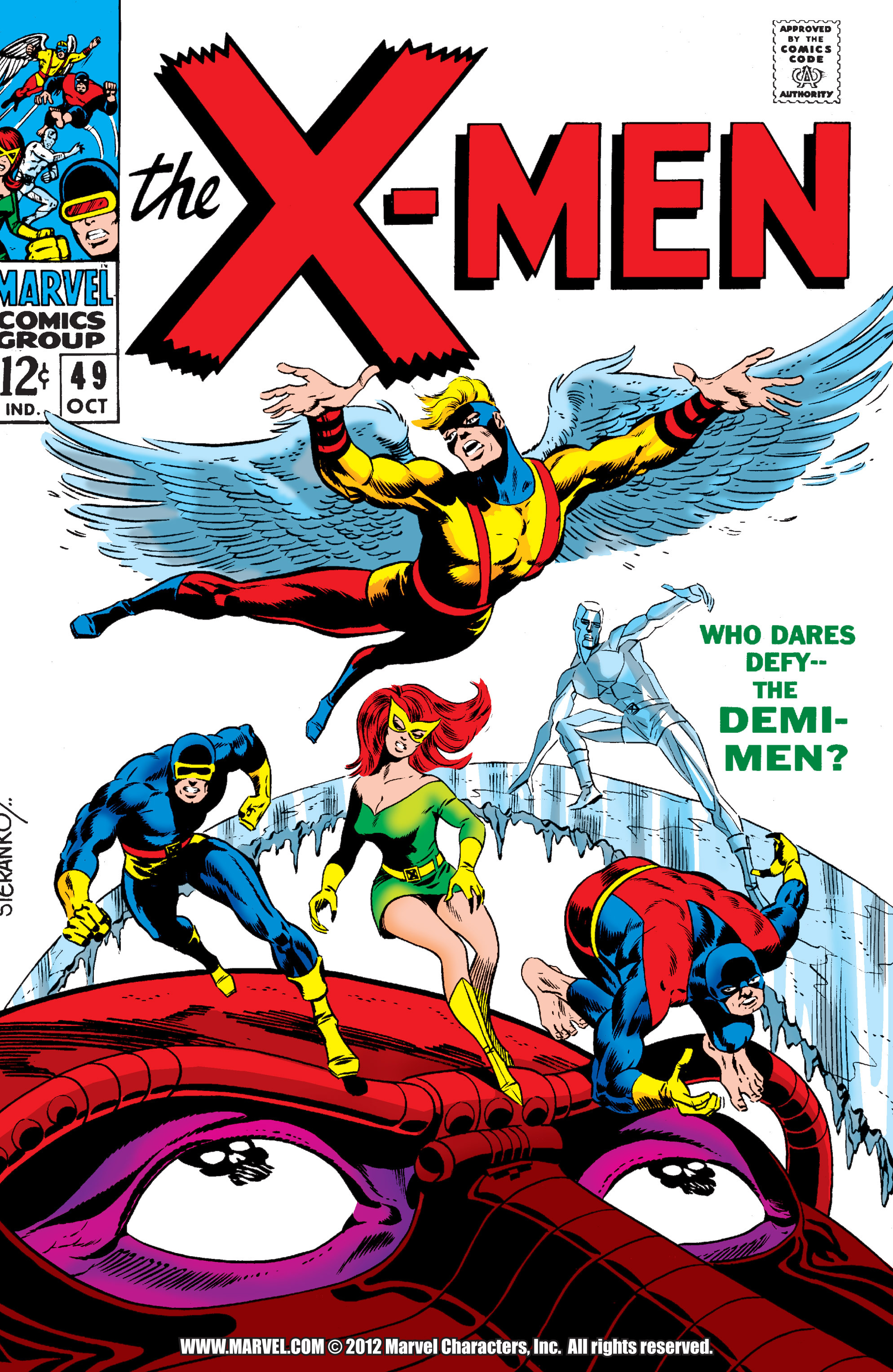 Uncanny X-Men (1963) 49 Page 1