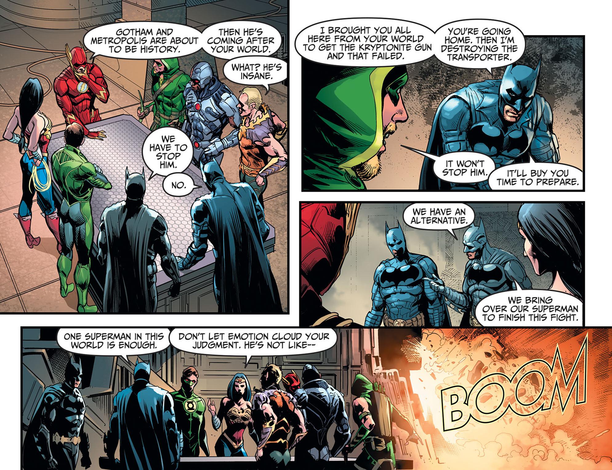 Read online Injustice: Ground Zero comic -  Issue #21 - 12