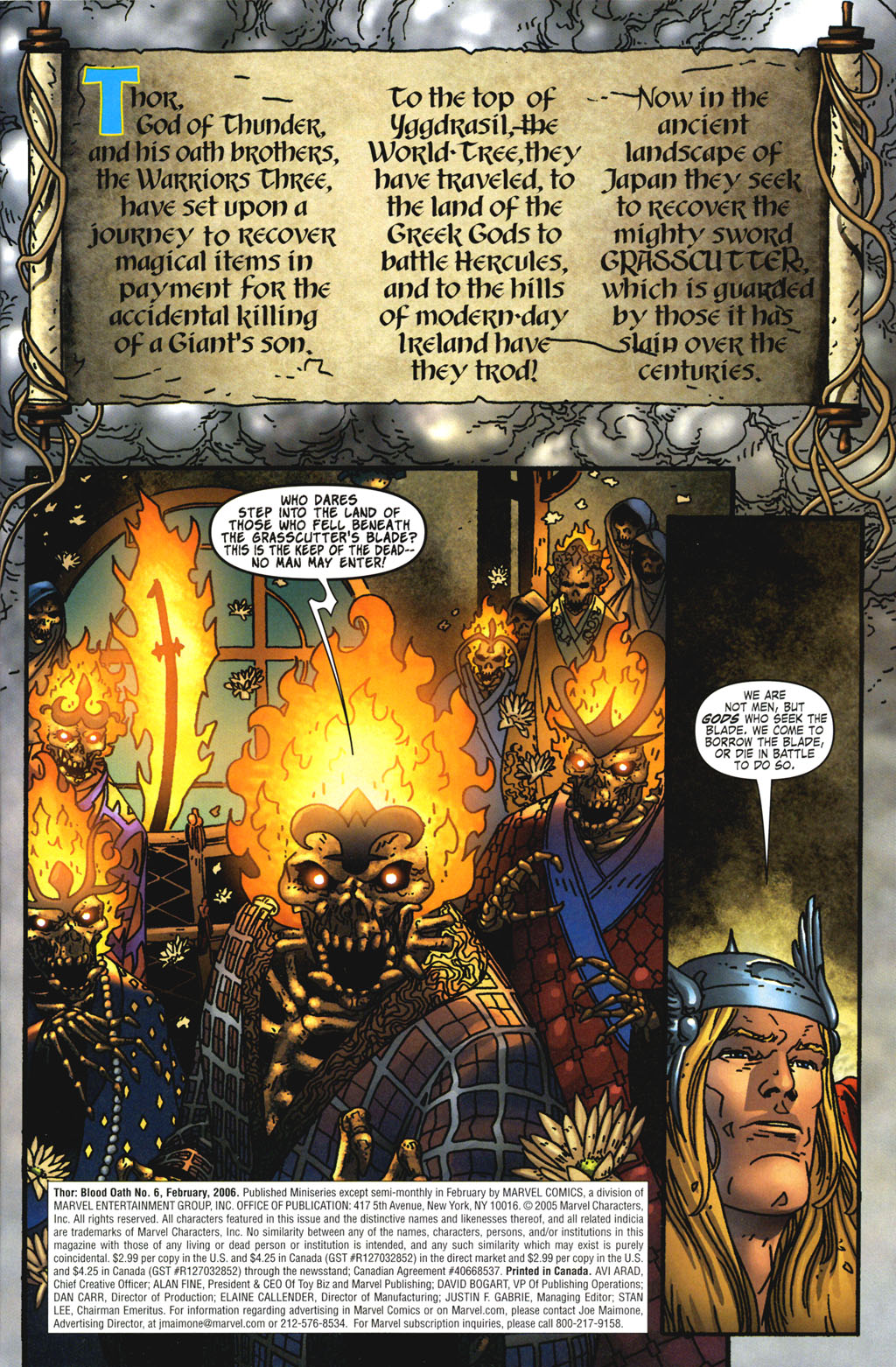 Read online Thor: Blood Oath comic -  Issue #6 - 2