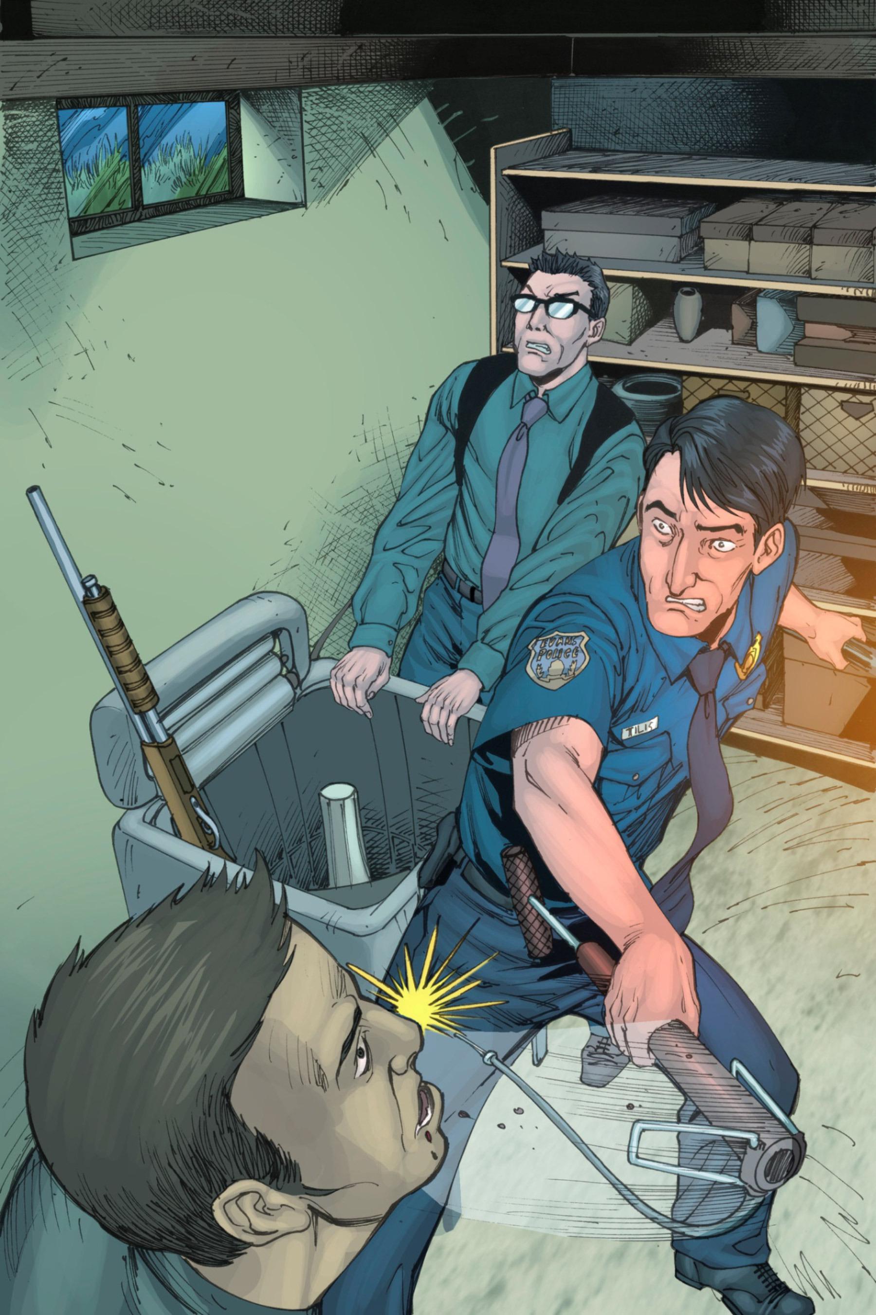 Read online Z-Men comic -  Issue #3 - 106
