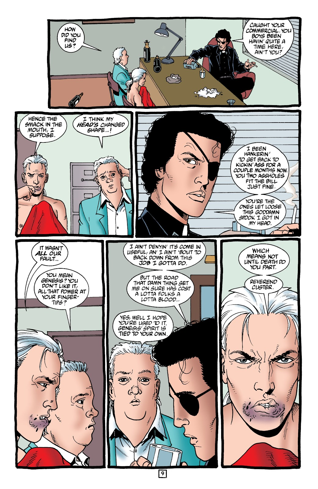 Preacher Issue #59 #68 - English 10