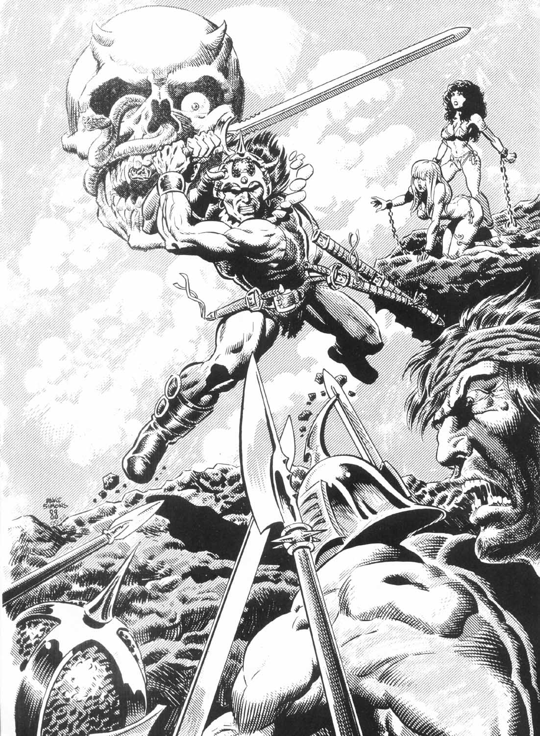 The Savage Sword Of Conan Issue #156 #157 - English 59