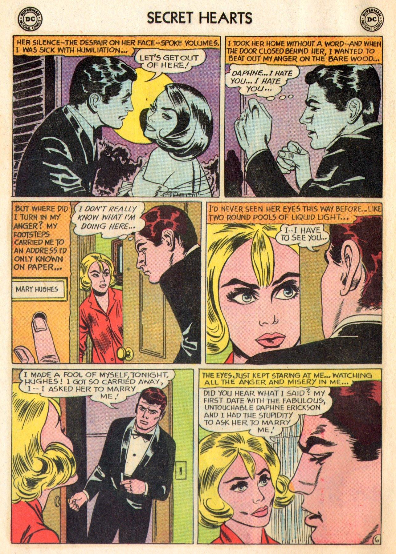 Read online Secret Hearts comic -  Issue #84 - 8