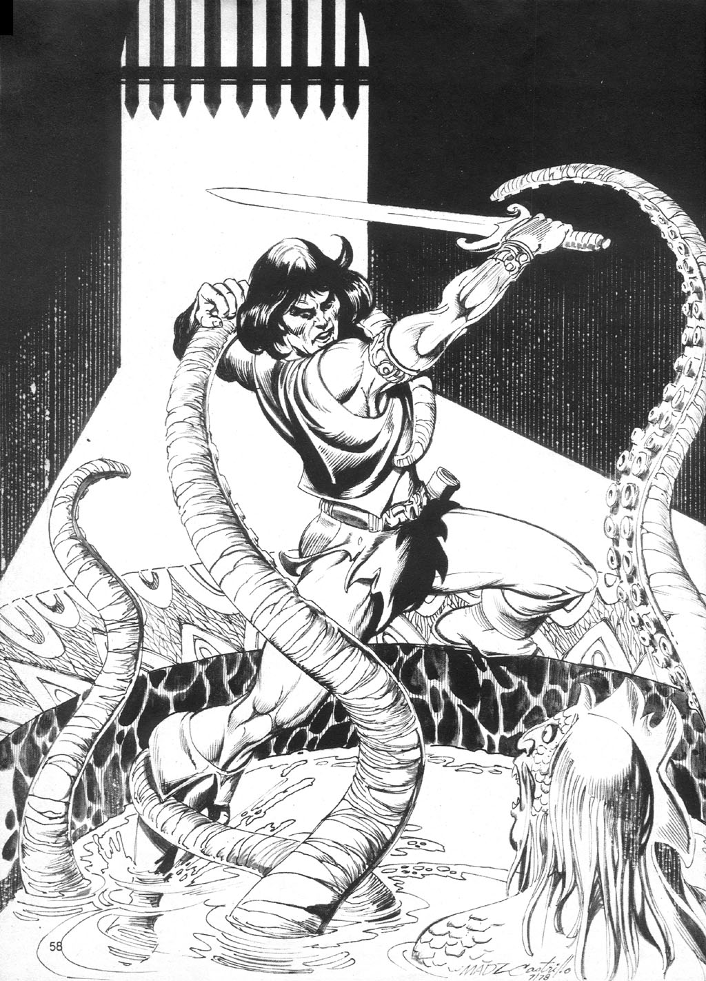 The Savage Sword Of Conan Issue #90 #91 - English 56
