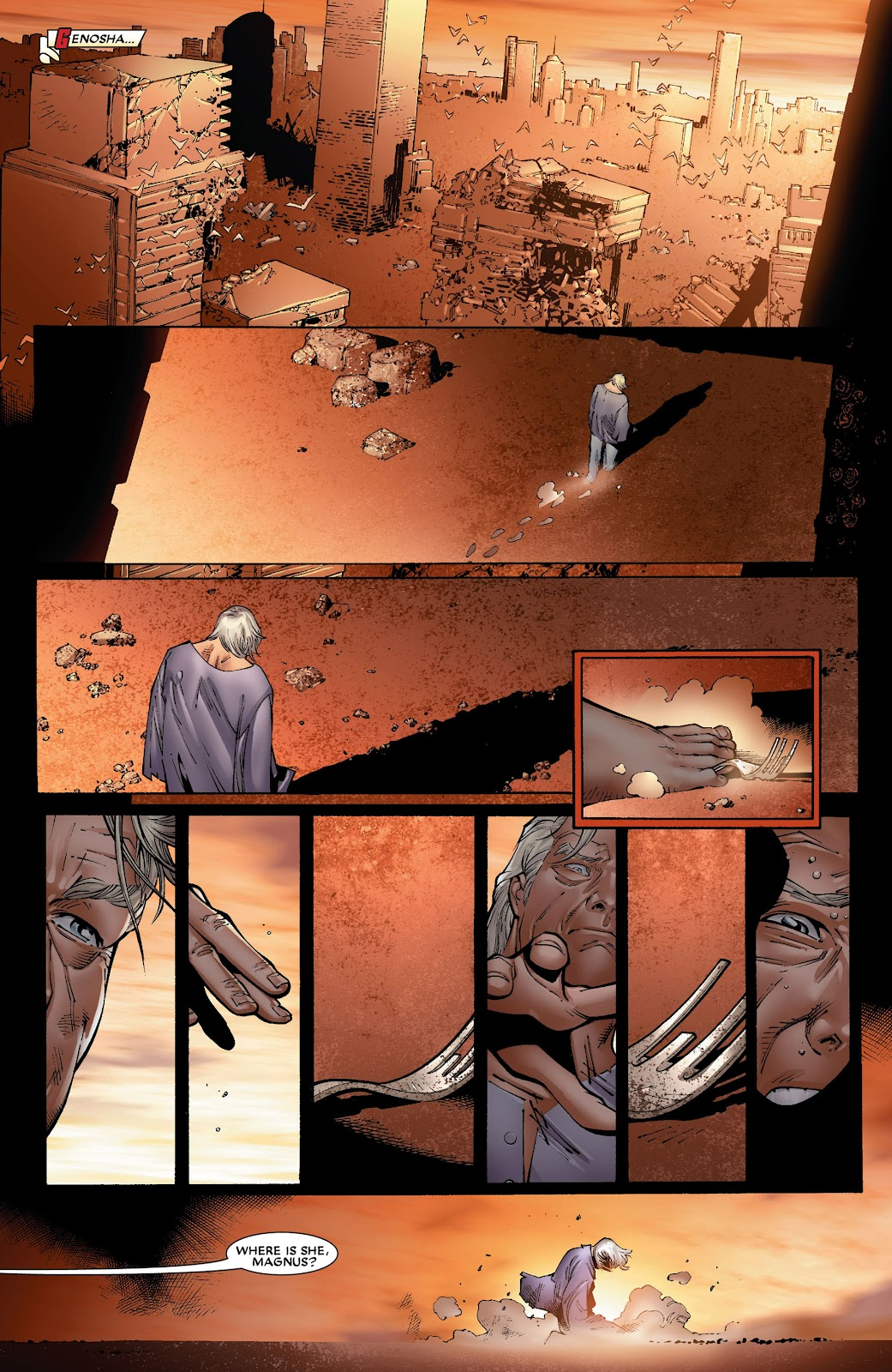 House of M (2005) Issue #8 #8 - English 21