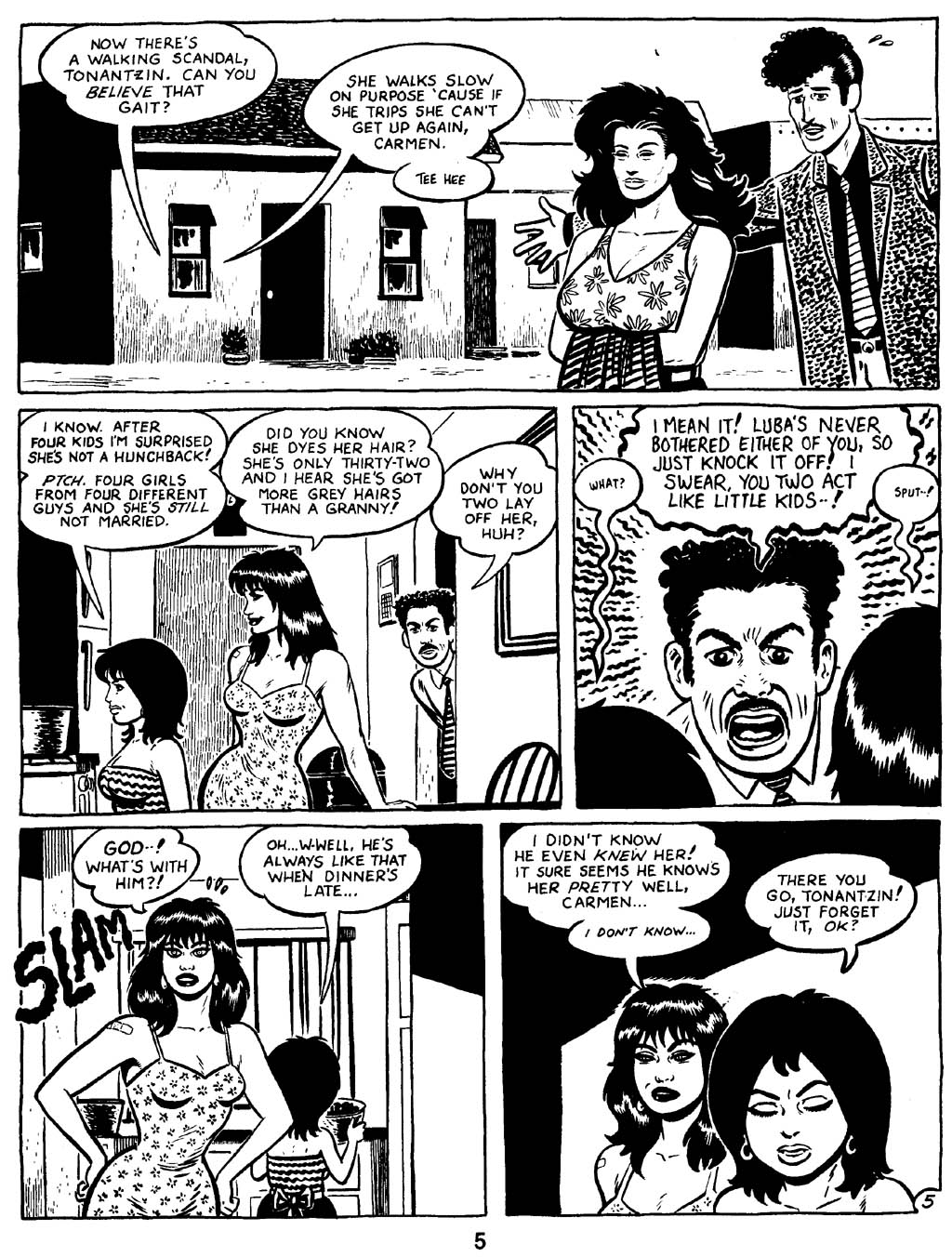 Love and Rockets (1982) Issue #16 #15 - English 7