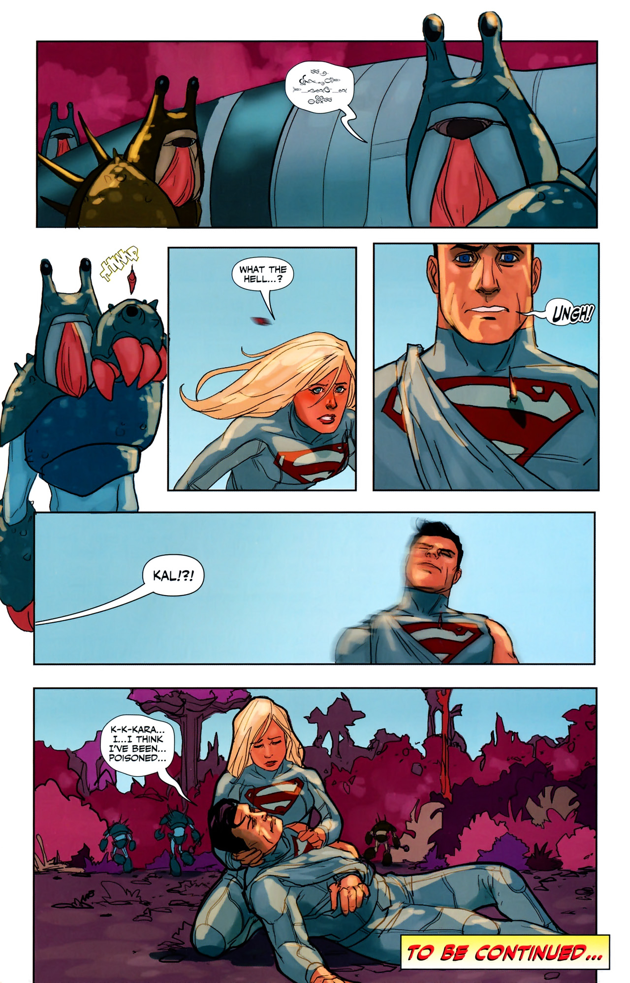 Read online Superman/Supergirl: Maelstrom comic -  Issue #3 - 22