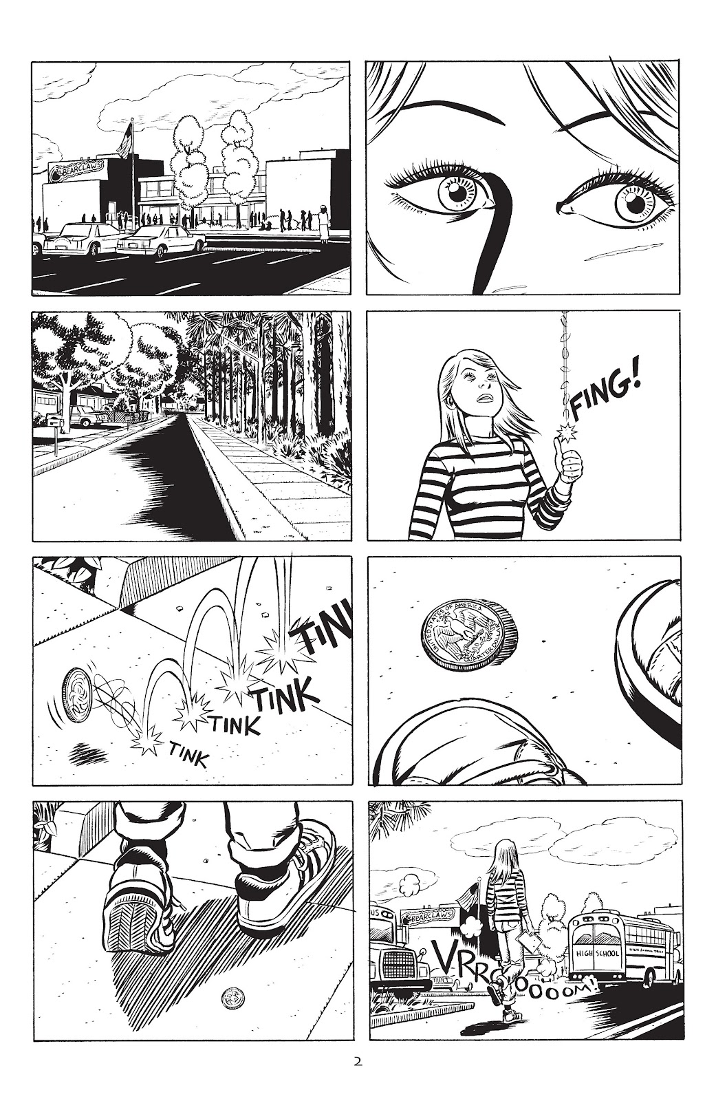 Stray Bullets Issue #31 #31 - English 4