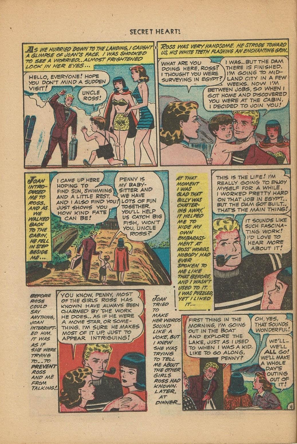 Read online Secret Hearts comic -  Issue #2 - 28