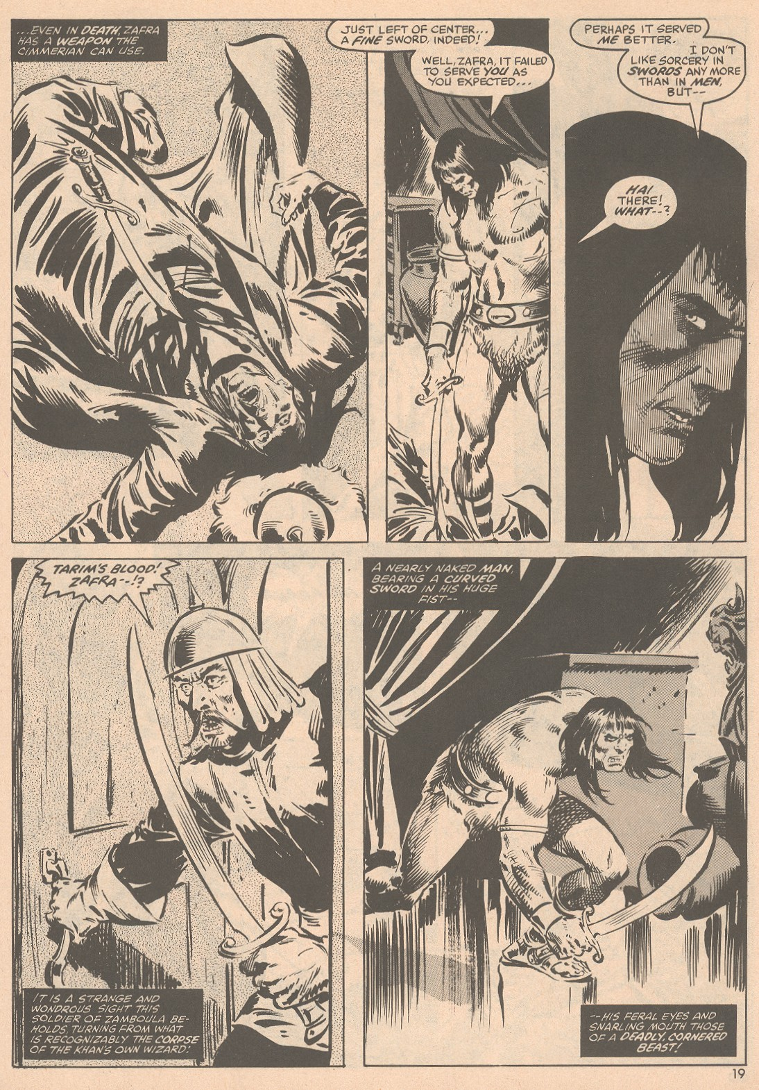 The Savage Sword Of Conan Issue #58 #59 - English 20