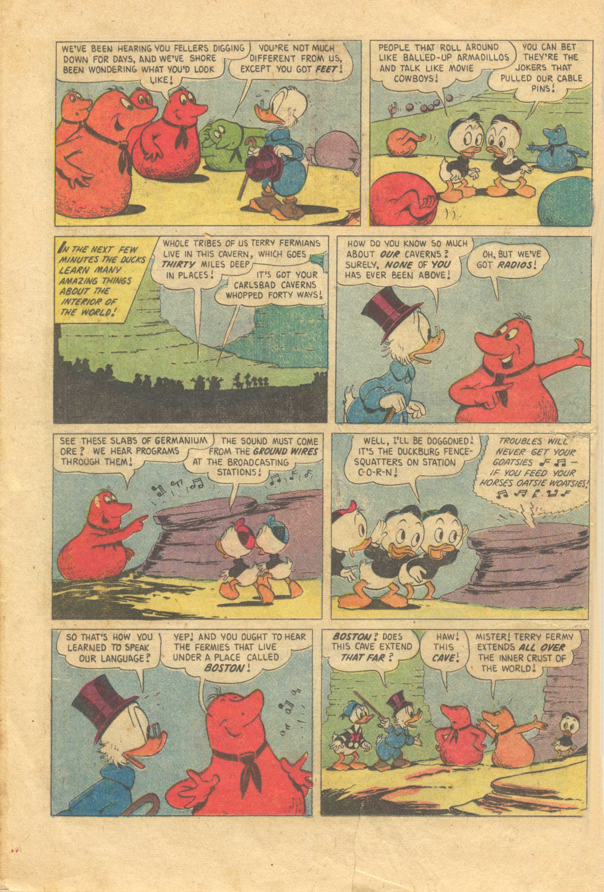 Uncle Scrooge (1953) #13 #392 - English 12