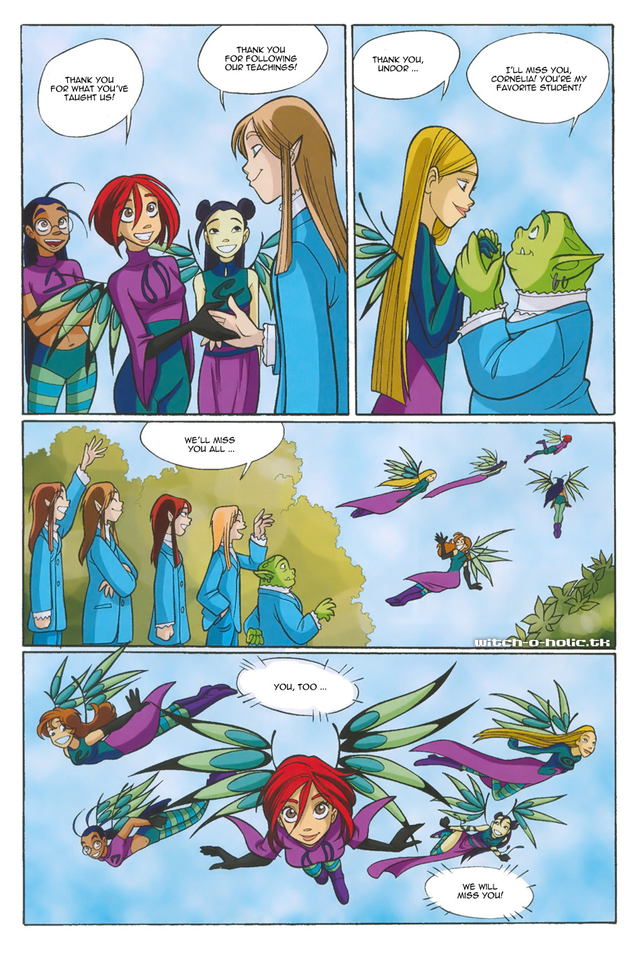 Read online W.i.t.c.h. comic -  Issue #135 - 34