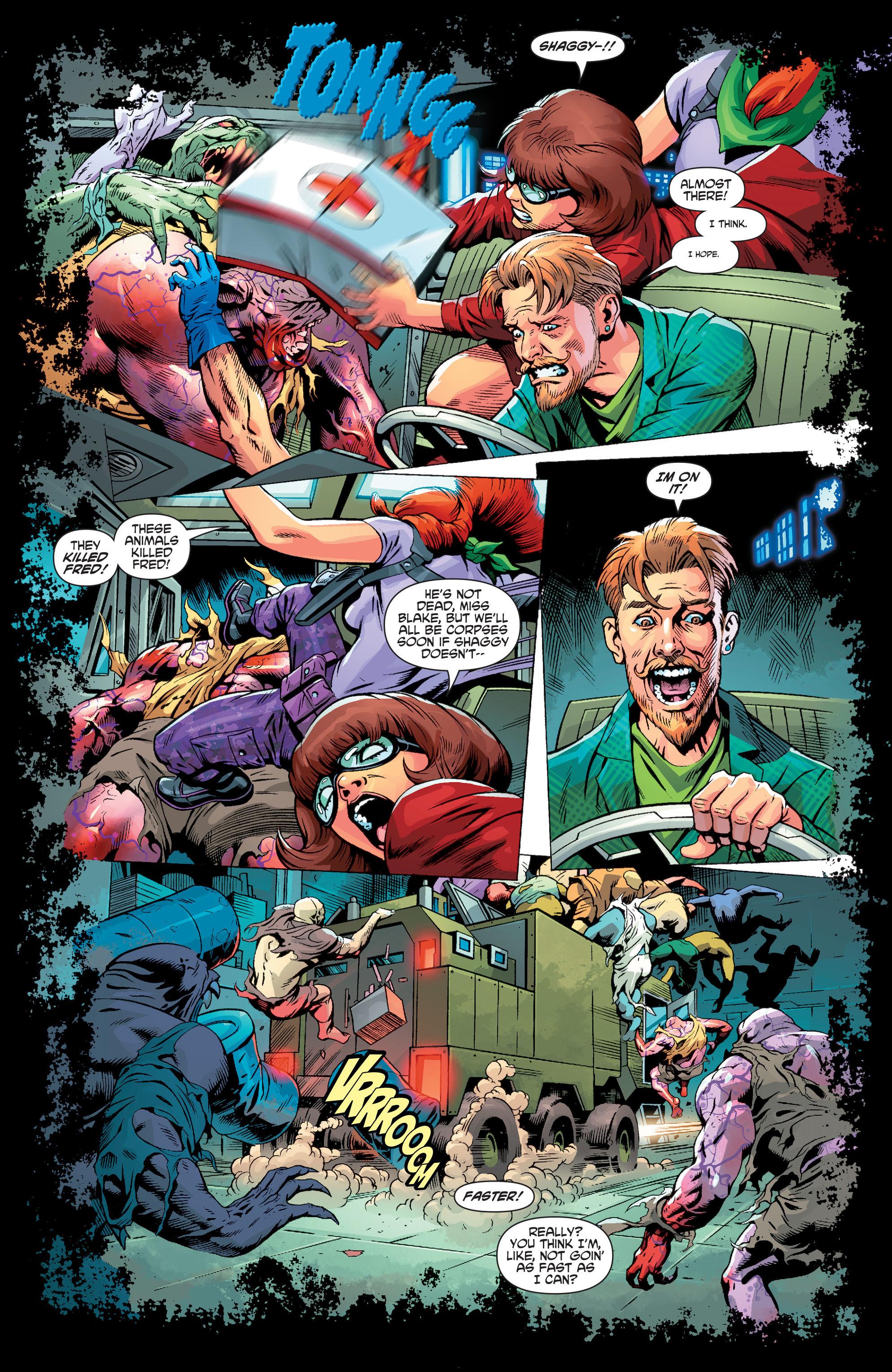 Read online Scooby Apocalypse comic -  Issue #3 - 17