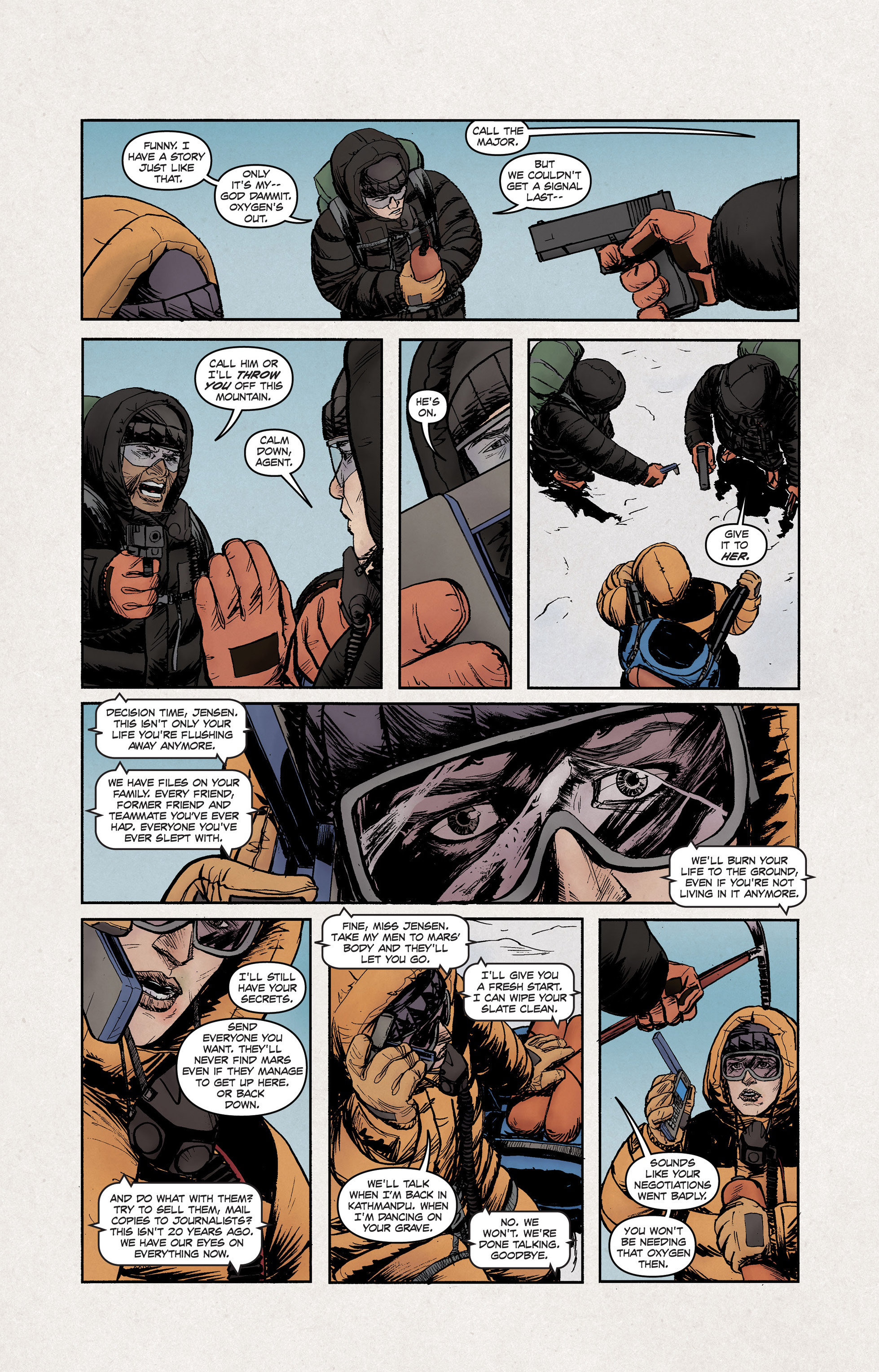 Read online High Crimes comic -  Issue #12 - 5