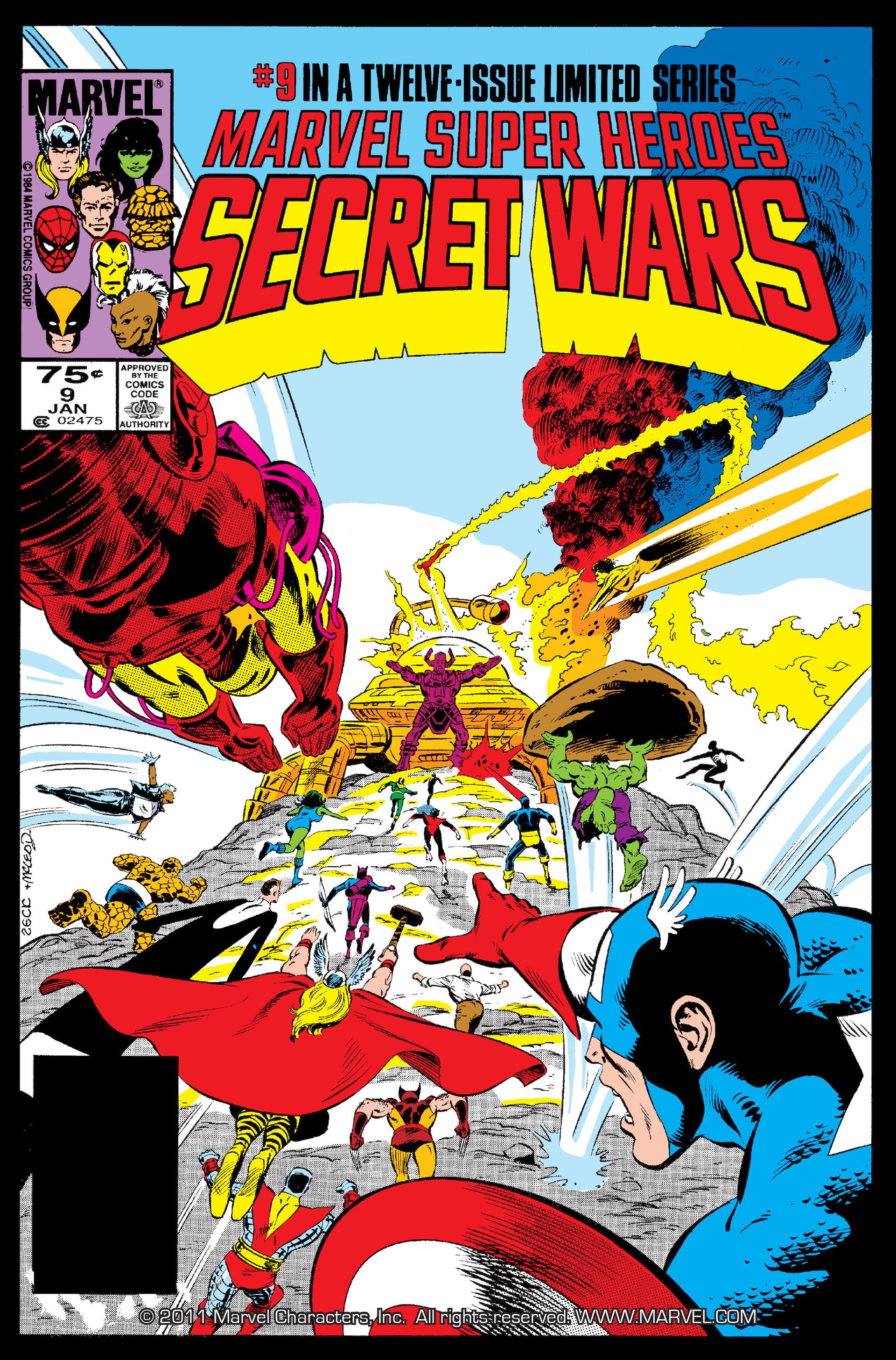 Secret Wars (1985) issue 9 - Page 1