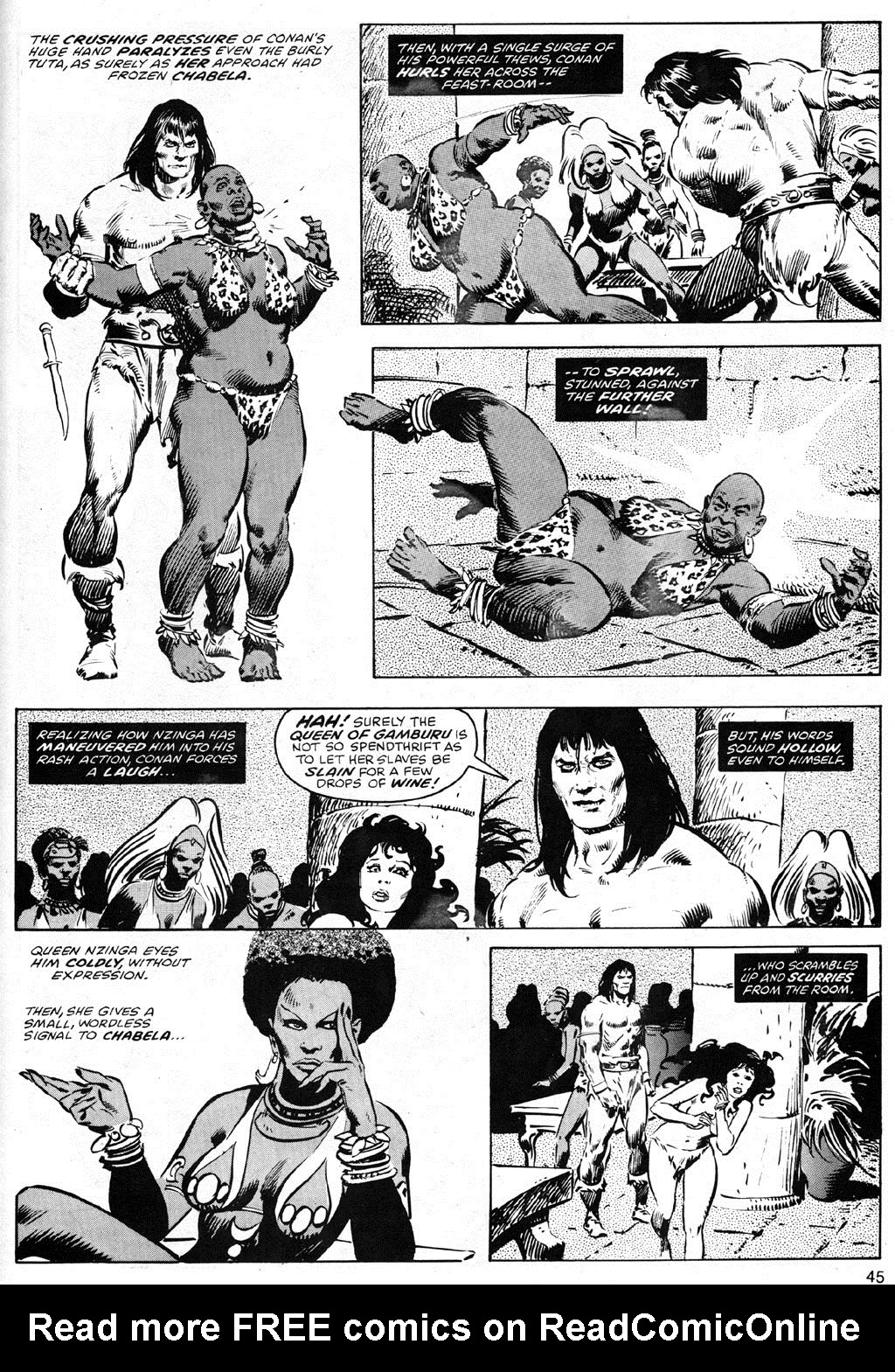 The Savage Sword Of Conan Issue #41 #42 - English 45