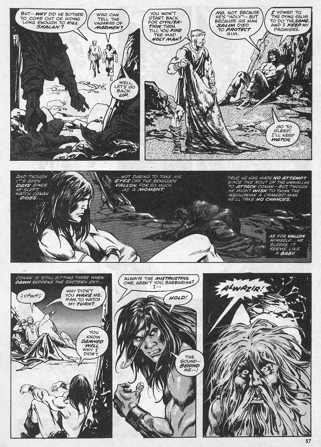 The Savage Sword Of Conan Issue #28 #29 - English 57