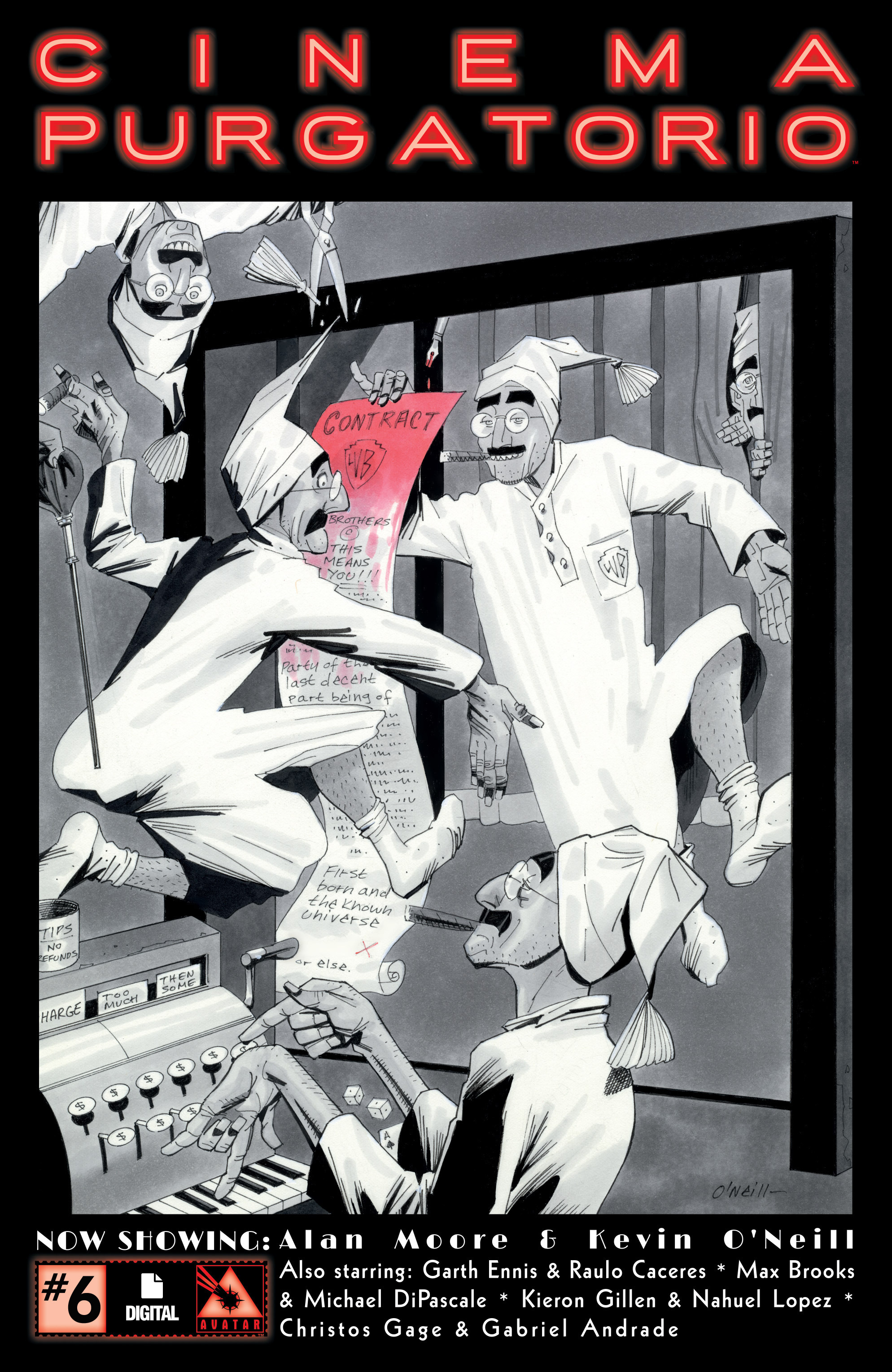Alan Moore's Cinema Purgatorio 6 Page 1