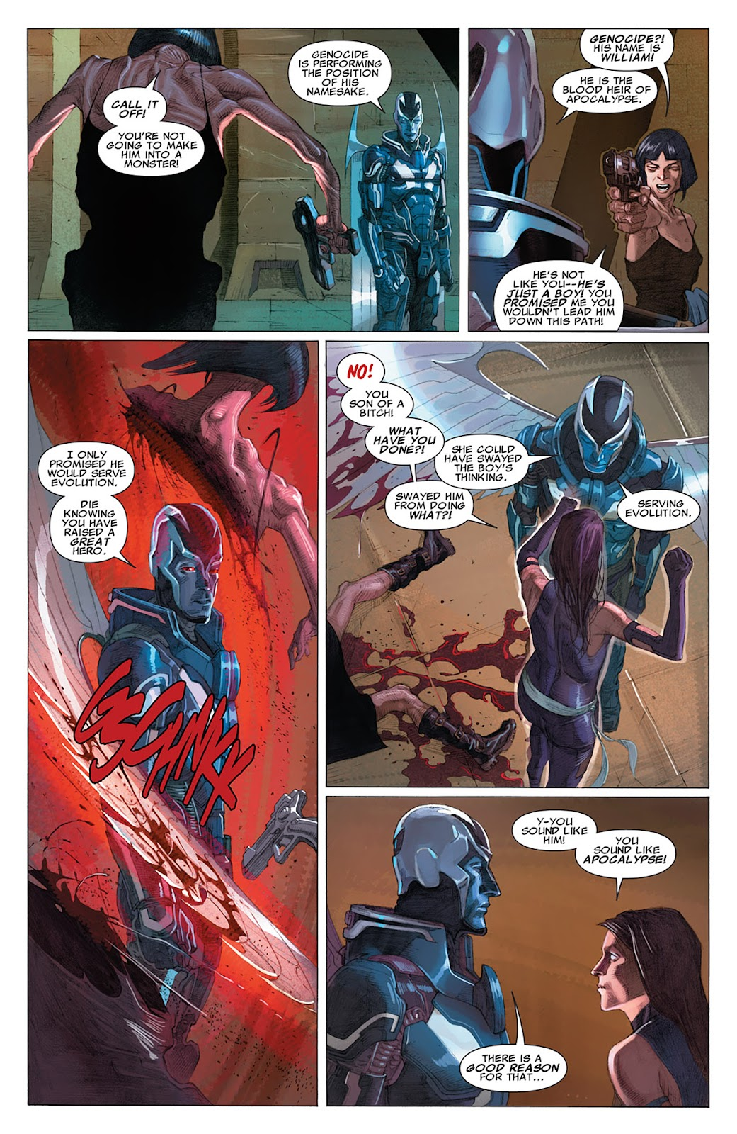 Uncanny X-Force (2010) Issue #16 #17 - English 13