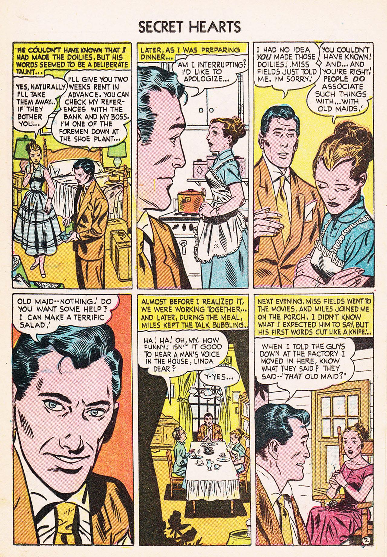 Read online Secret Hearts comic -  Issue #24 - 19