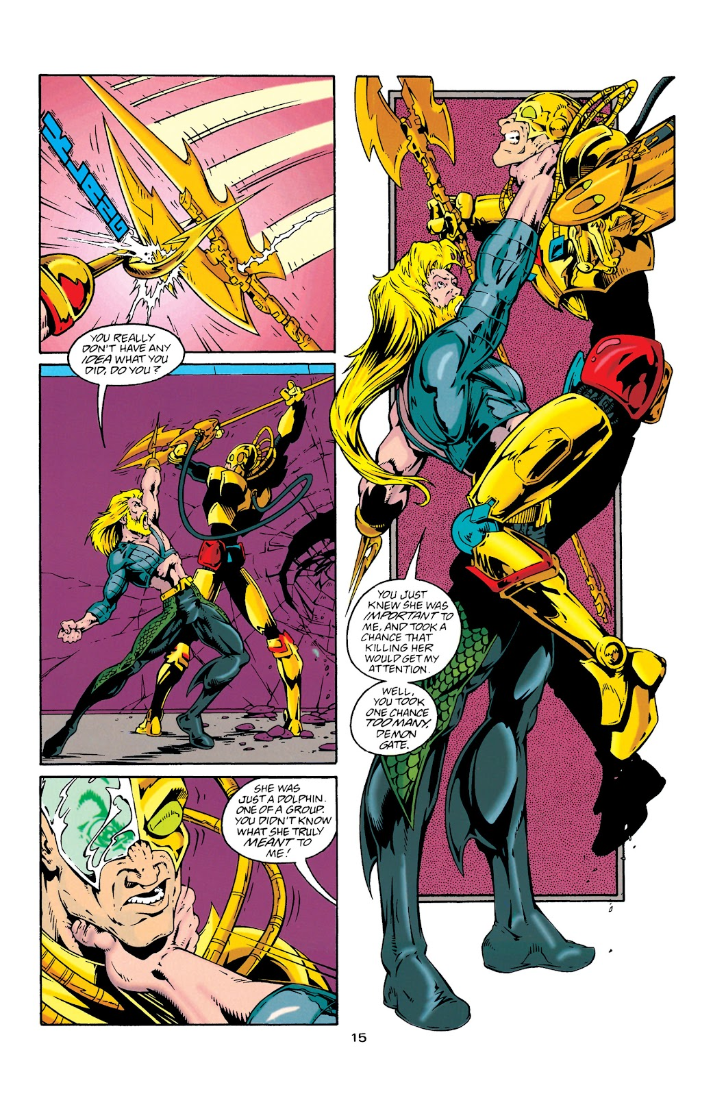 Aquaman (1994) Issue #27 #33 - English 16