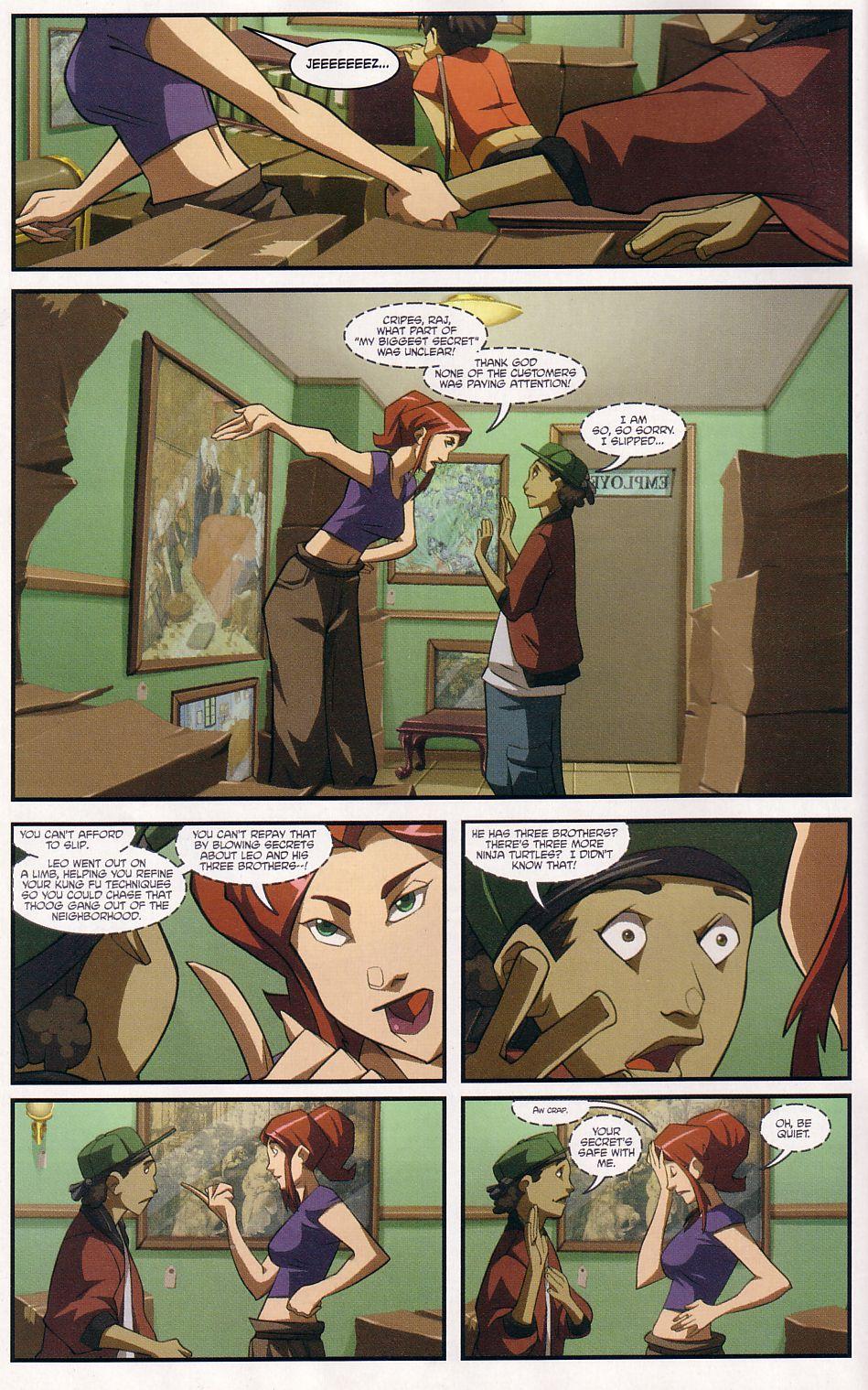 Teenage Mutant Ninja Turtles (2003) chap 7 pic 4