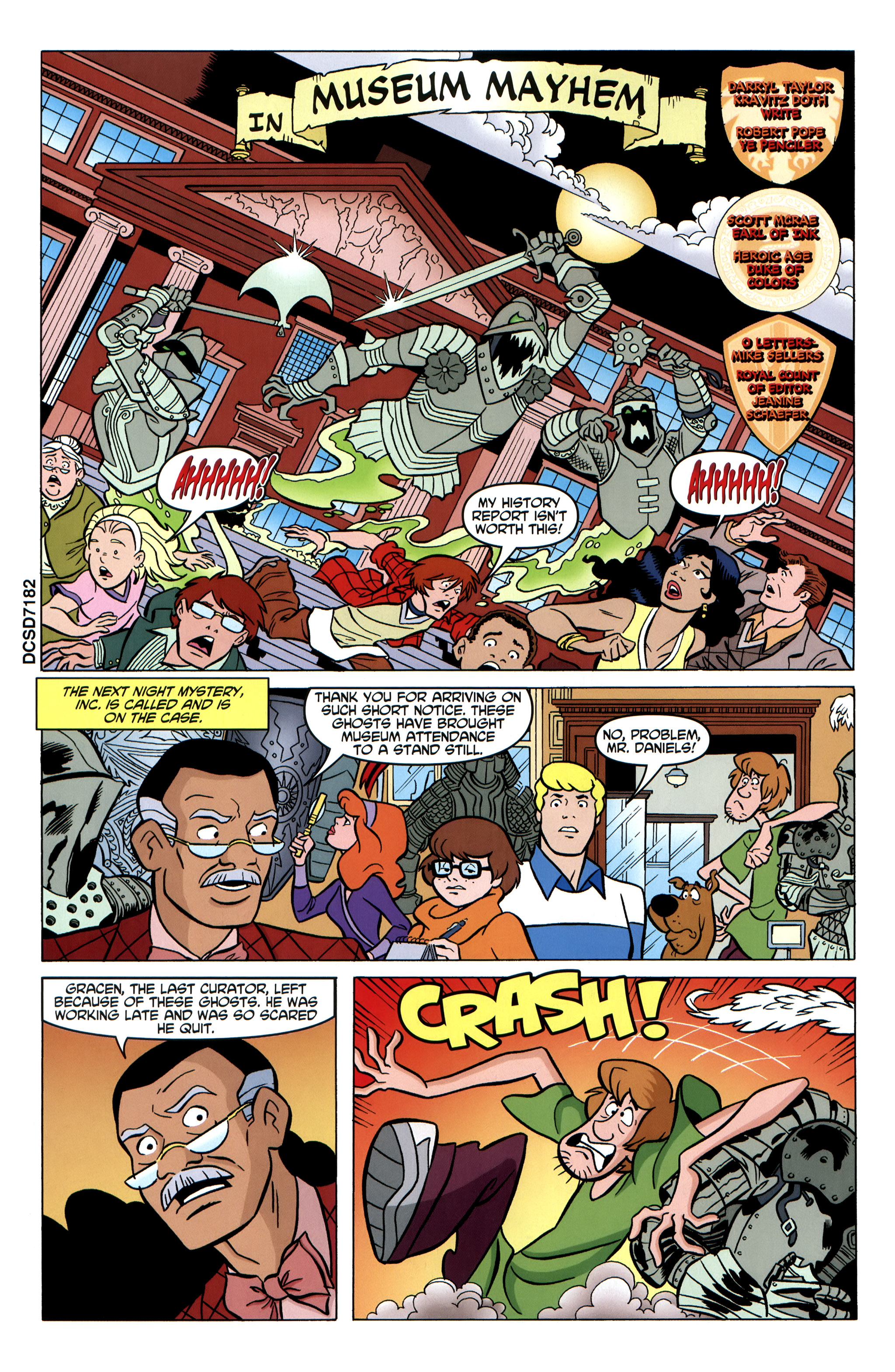 Read online Scooby-Doo: Where Are You? comic -  Issue #35 - 14