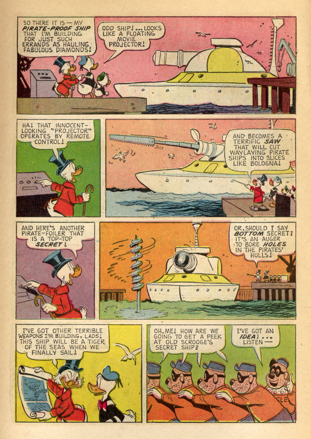 Uncle Scrooge (1953) Issue #70 #70 - English 7